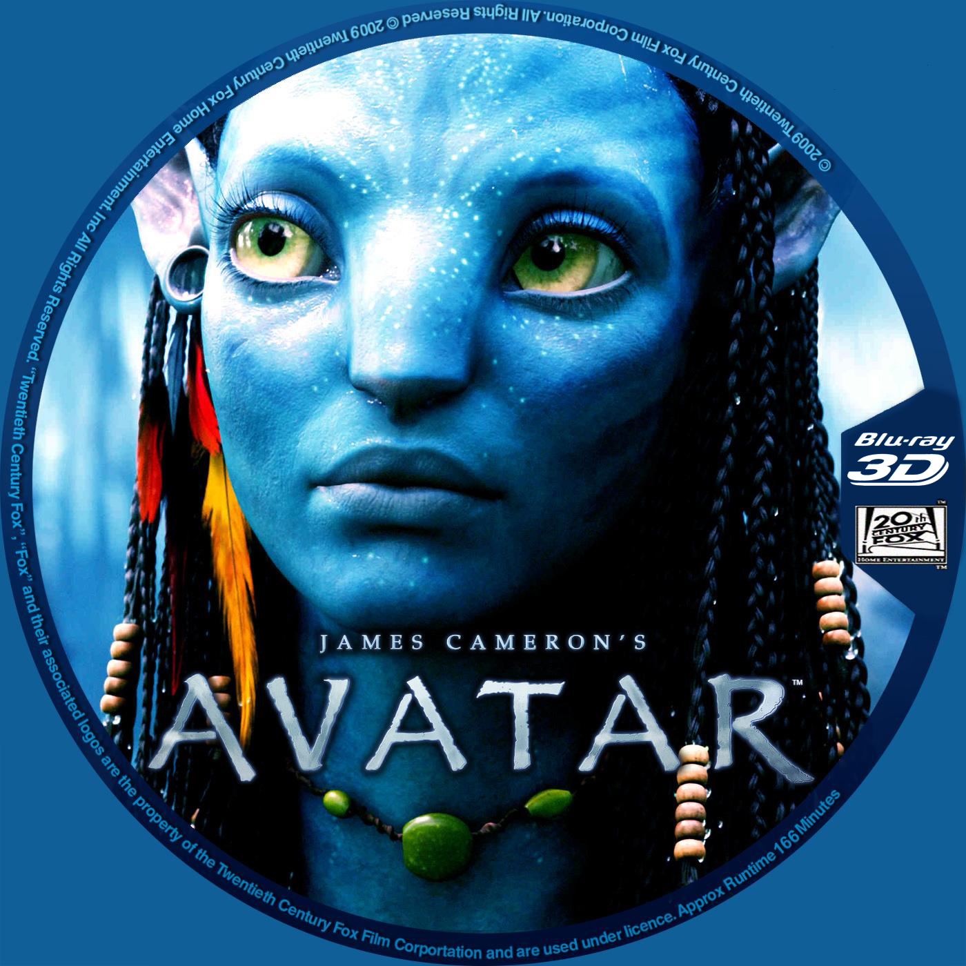 COVERS.BOX.SK ::: AVATAR (2009) 3D Blu-ray Disc