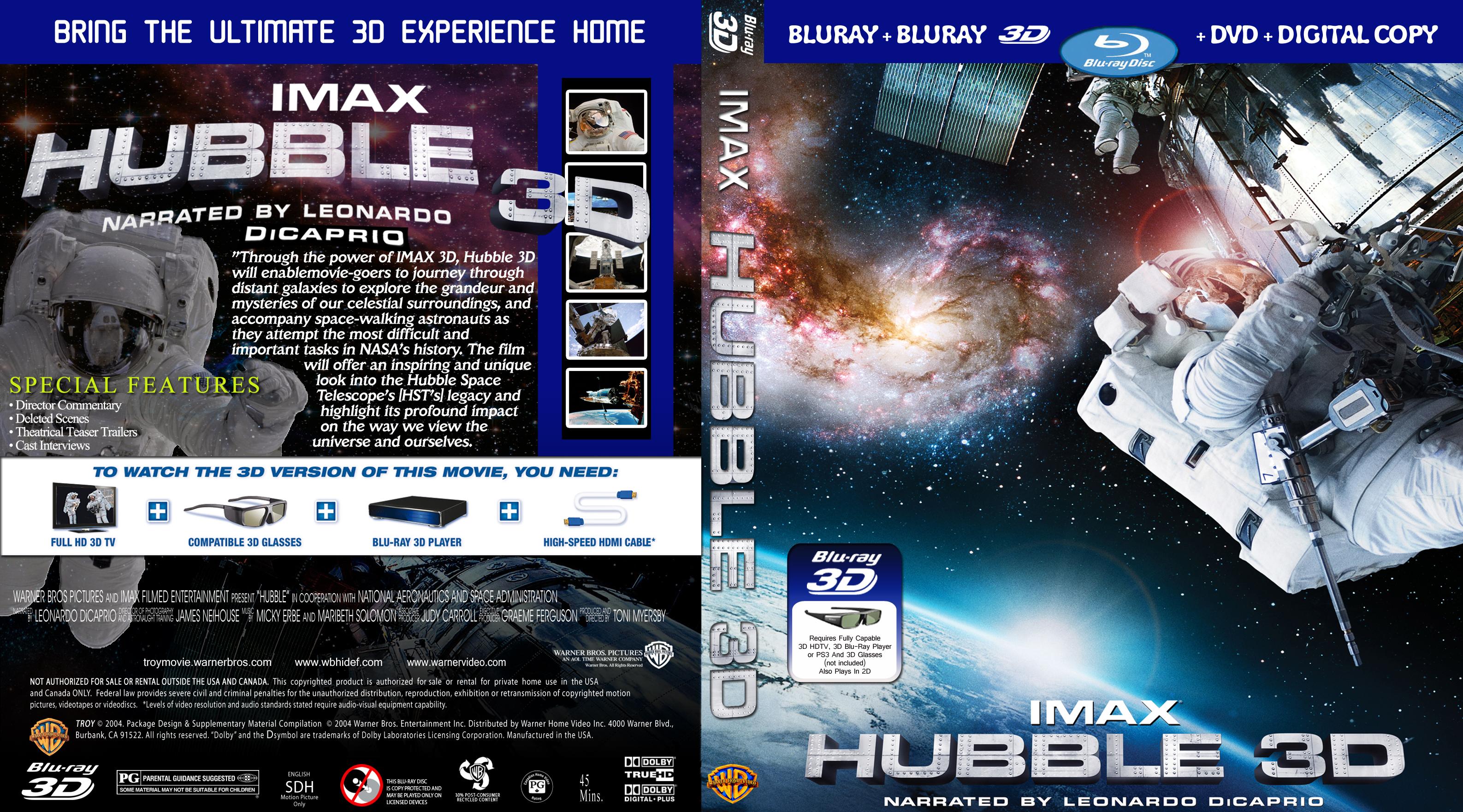 Телескоп хаббл в 3д  hubble 3d тони майерс  toni