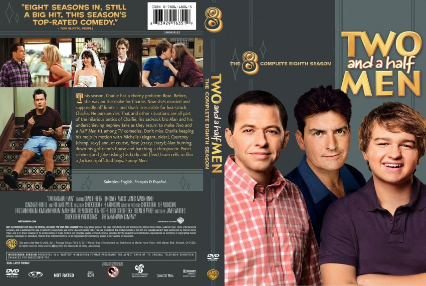 COVERS.BOX.SK ::: two and a half men season 8 - high ...