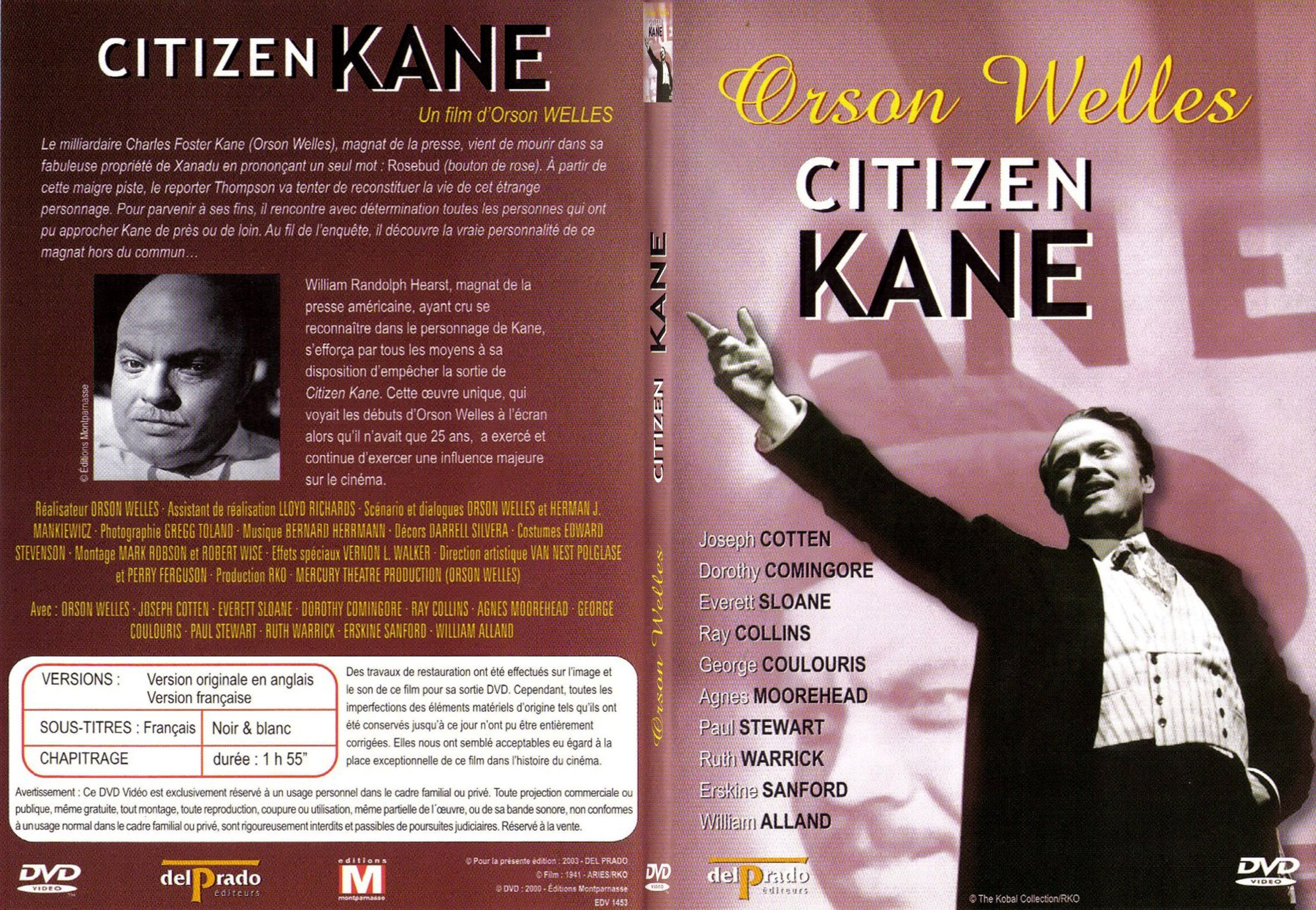 a review of the movie citizen kane by orson welles