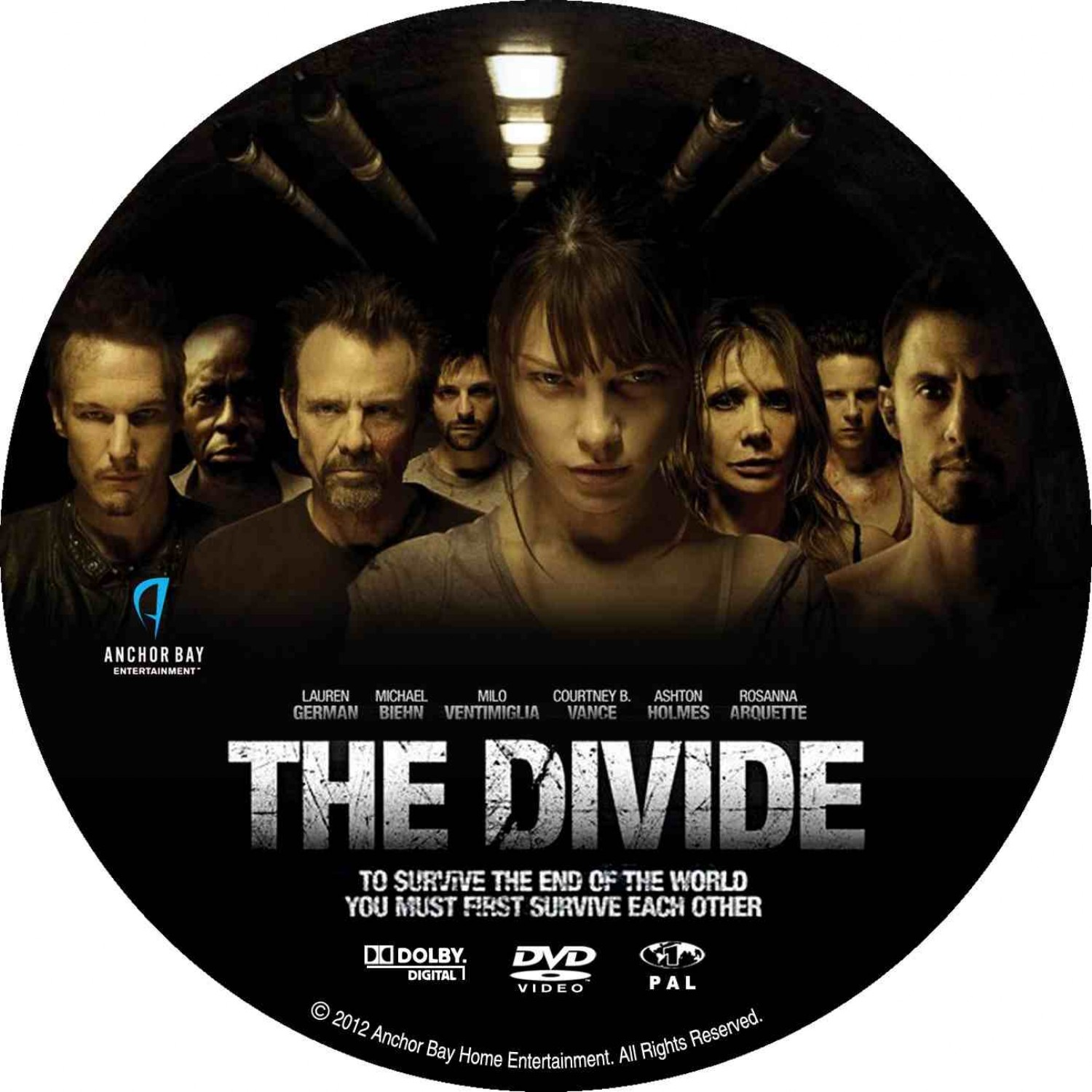 the divide dvd cover
