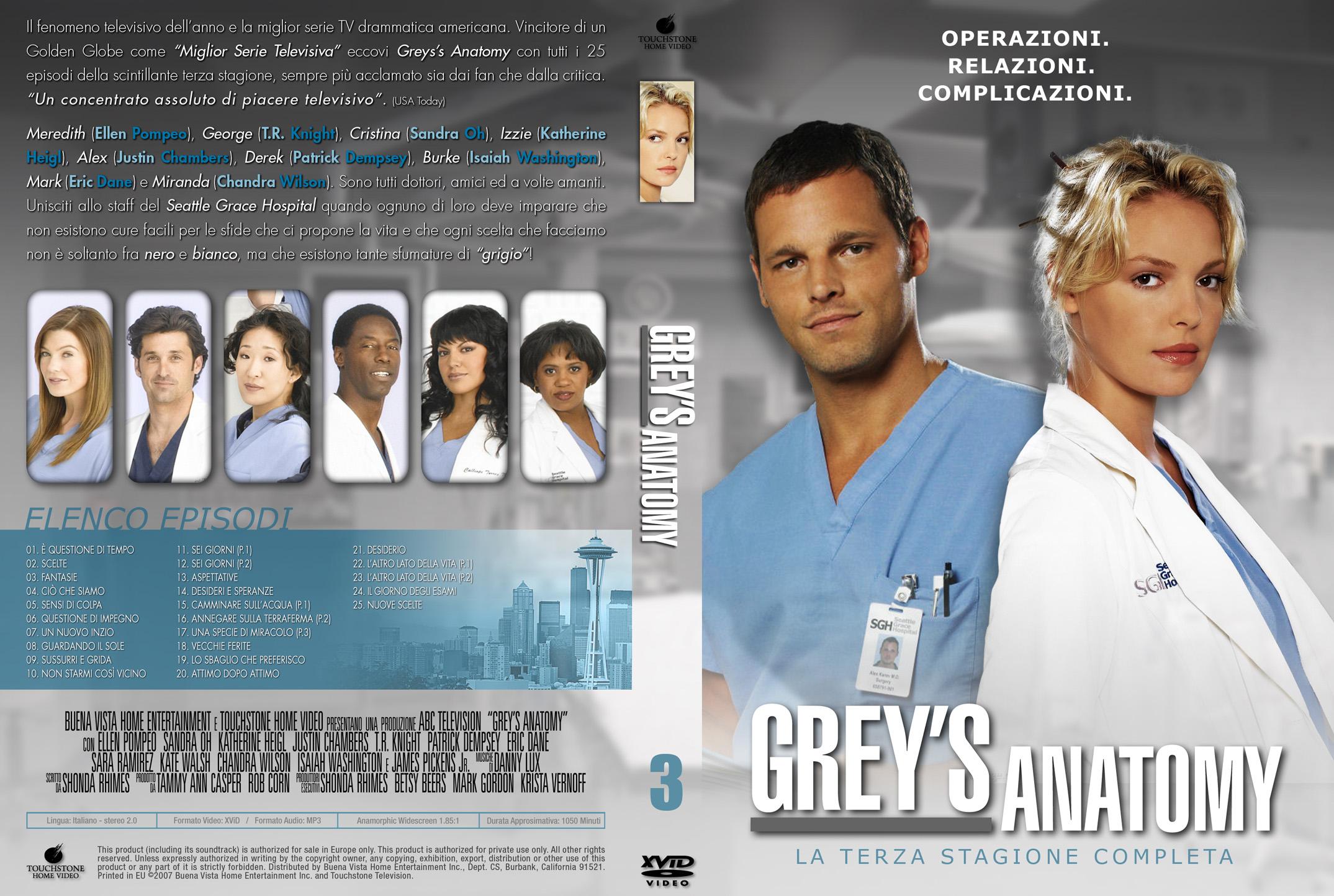 Greys Anatomy Season 3 Complete