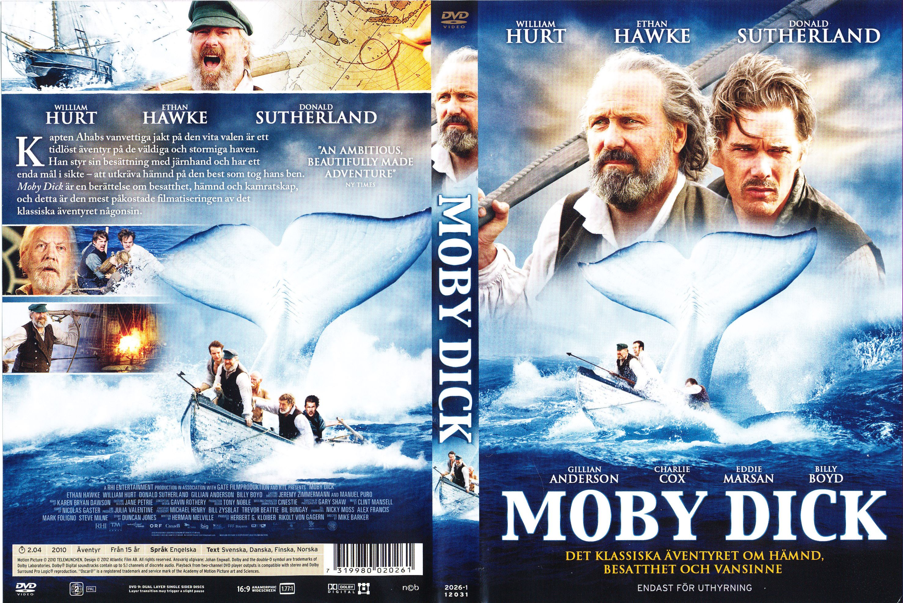 symbolism in 2010 moby dick