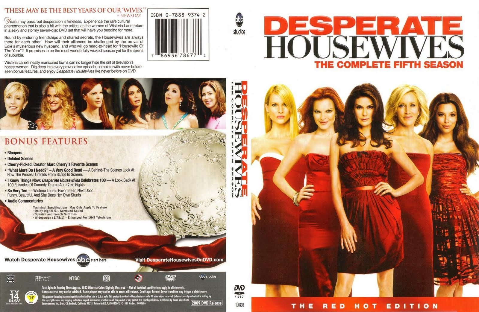 covers box sk desperate housewives season 5 imdb dl5 high quality dvd blueray movie. Black Bedroom Furniture Sets. Home Design Ideas
