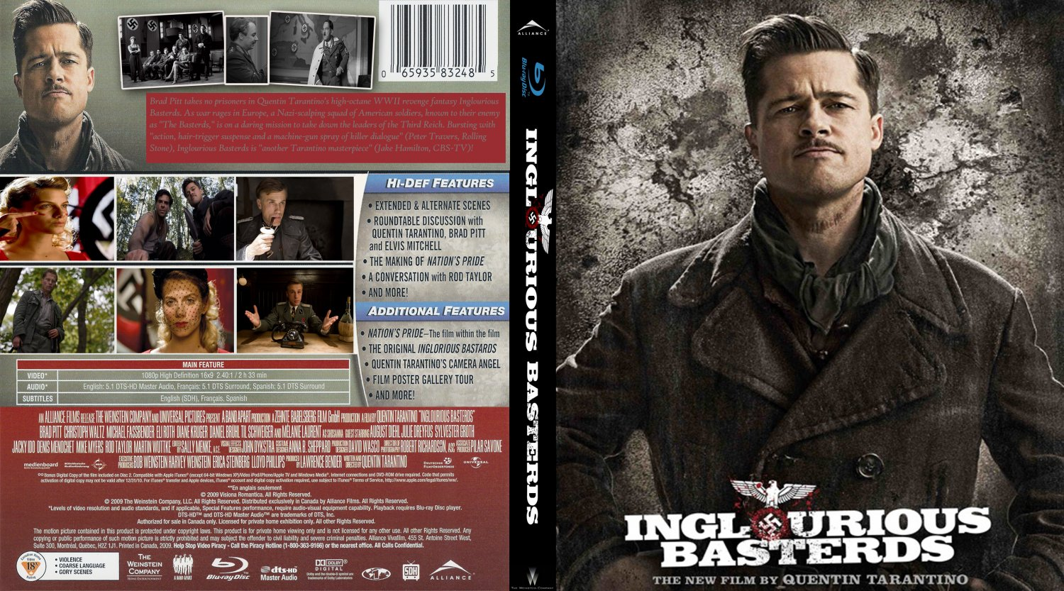 inglorious bastards imdb things you probably didn t know about covers box sk inglourious basterds imdb dl high quality click here for