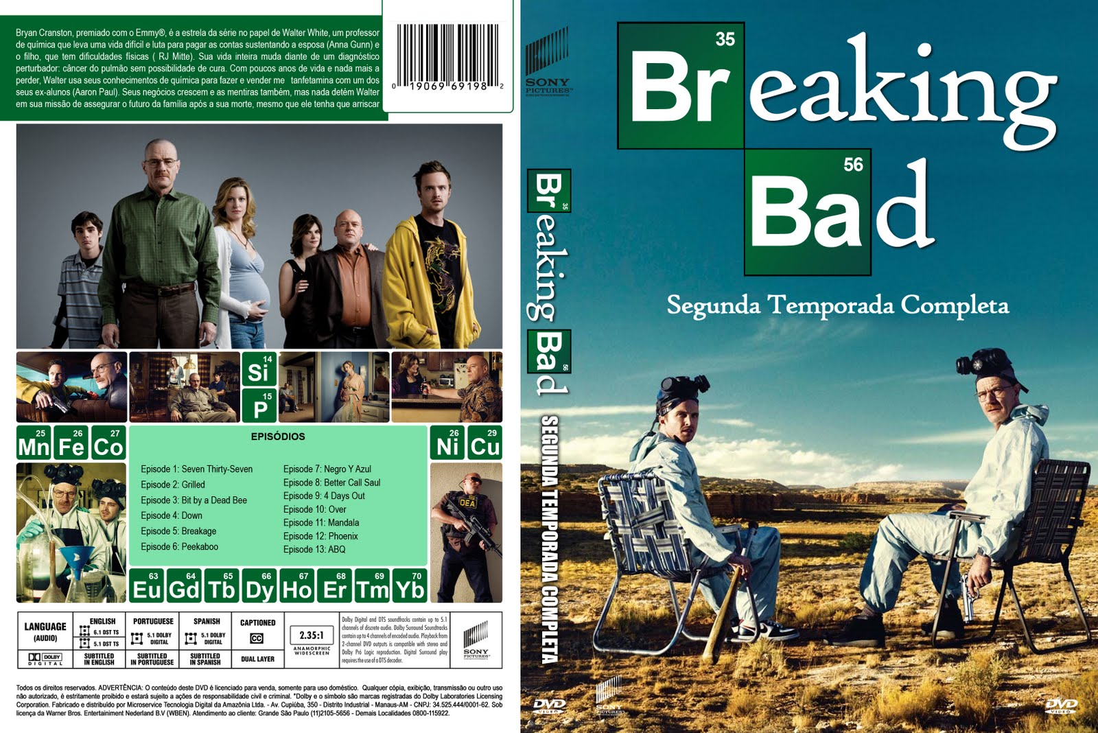 an overview of season five of the hit tv series breaking bad