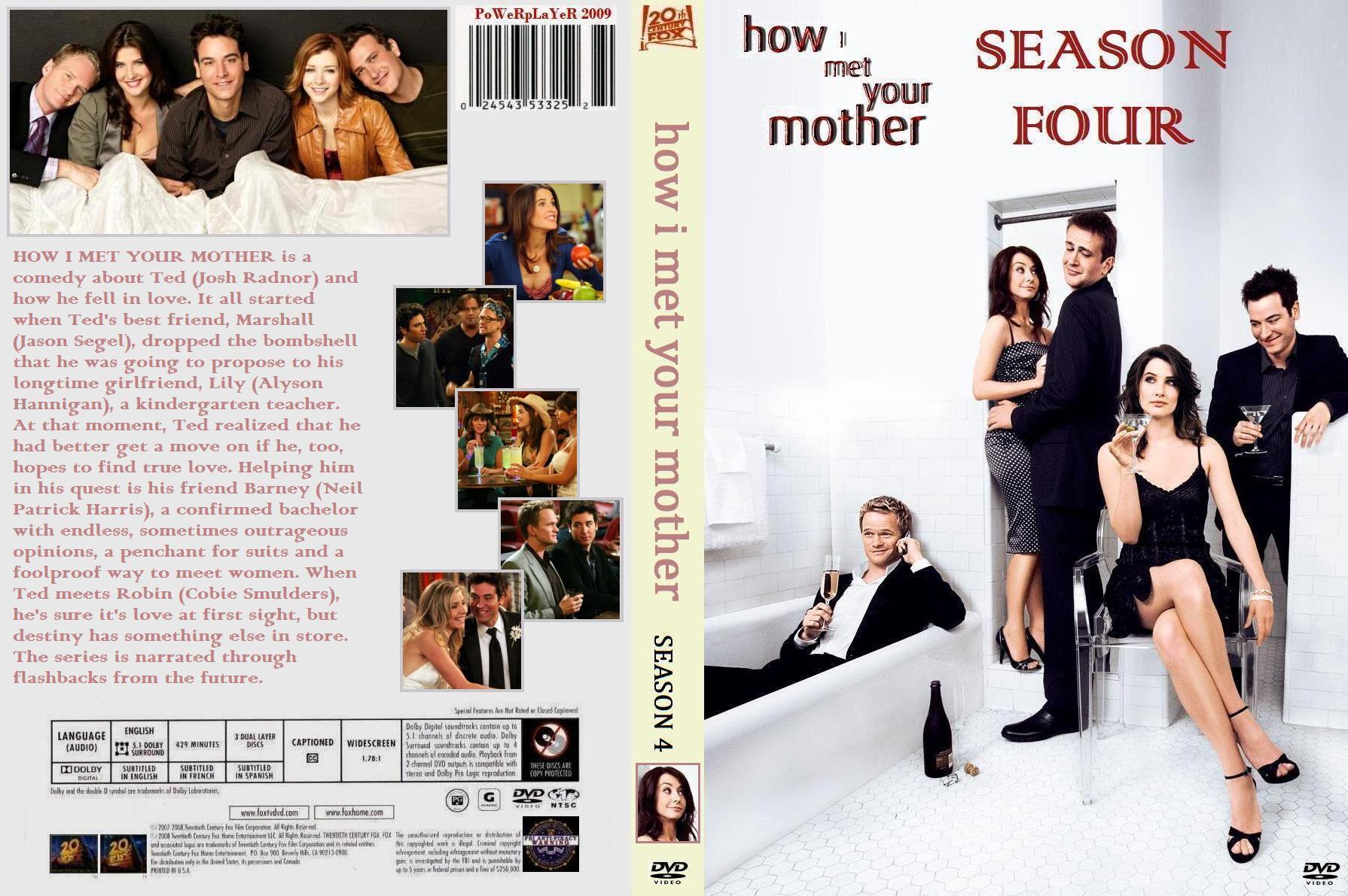 Download How I Met Your Mother - Season 4 Torrent - KickassTorrents wynemlato max1335565197-inlay-cover