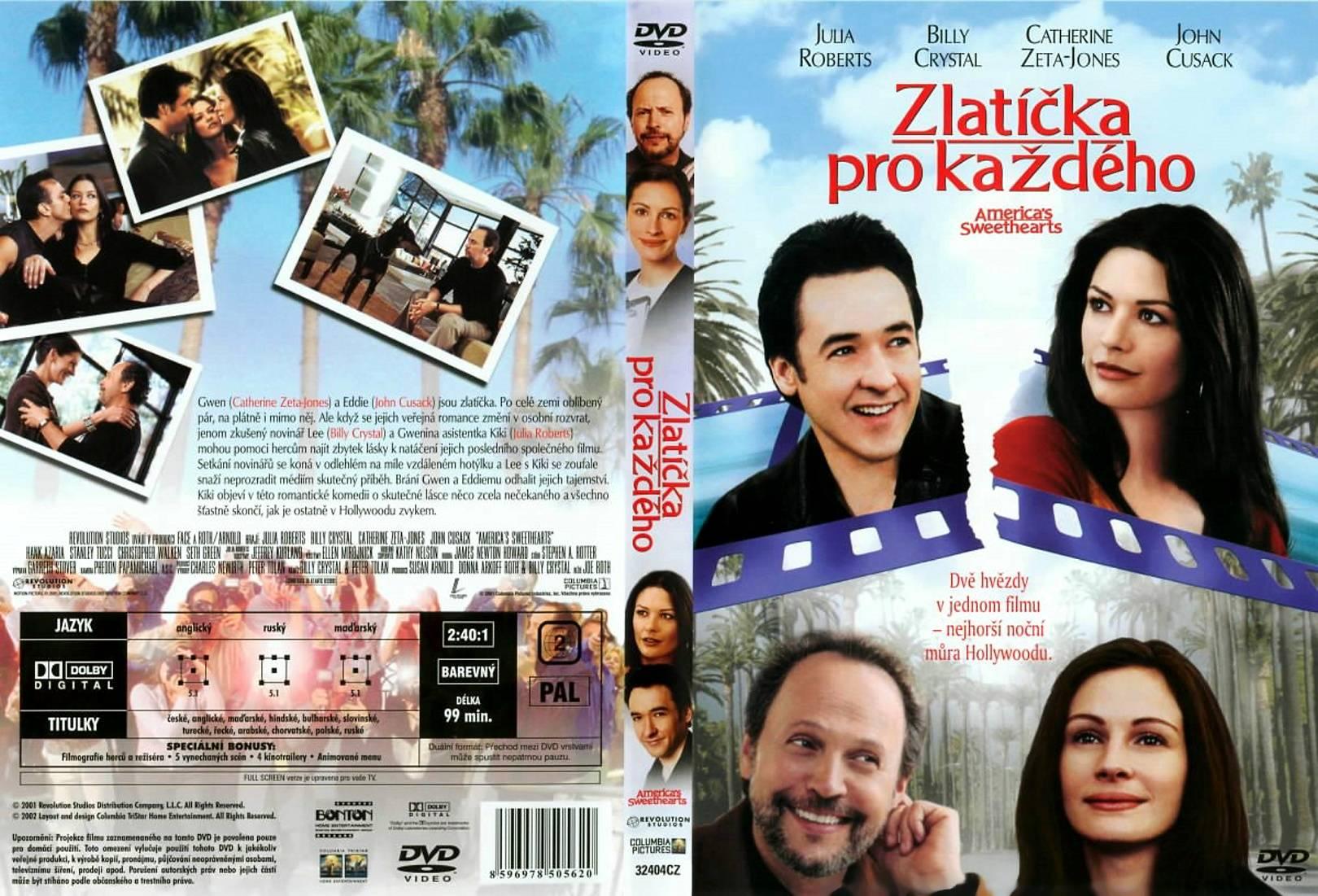 COVERS.BOX.SK ::: America's Sweethearts (2001) - high ...