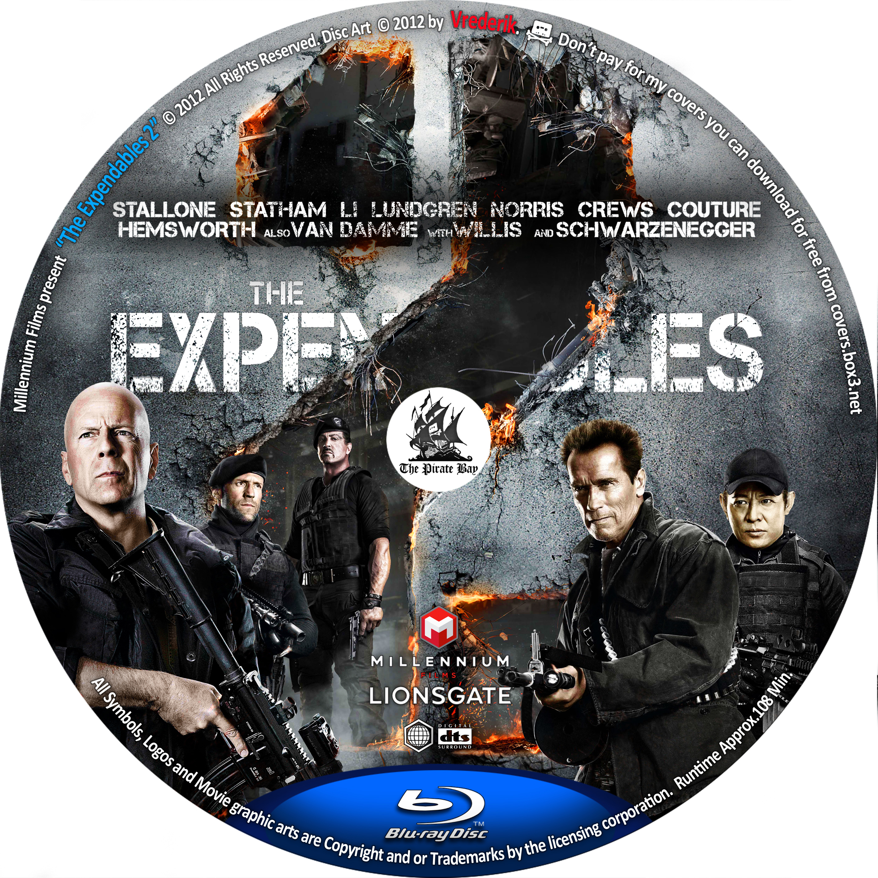 covers box sk the expendables 2 2012 high quality dvd blueray movie. Black Bedroom Furniture Sets. Home Design Ideas
