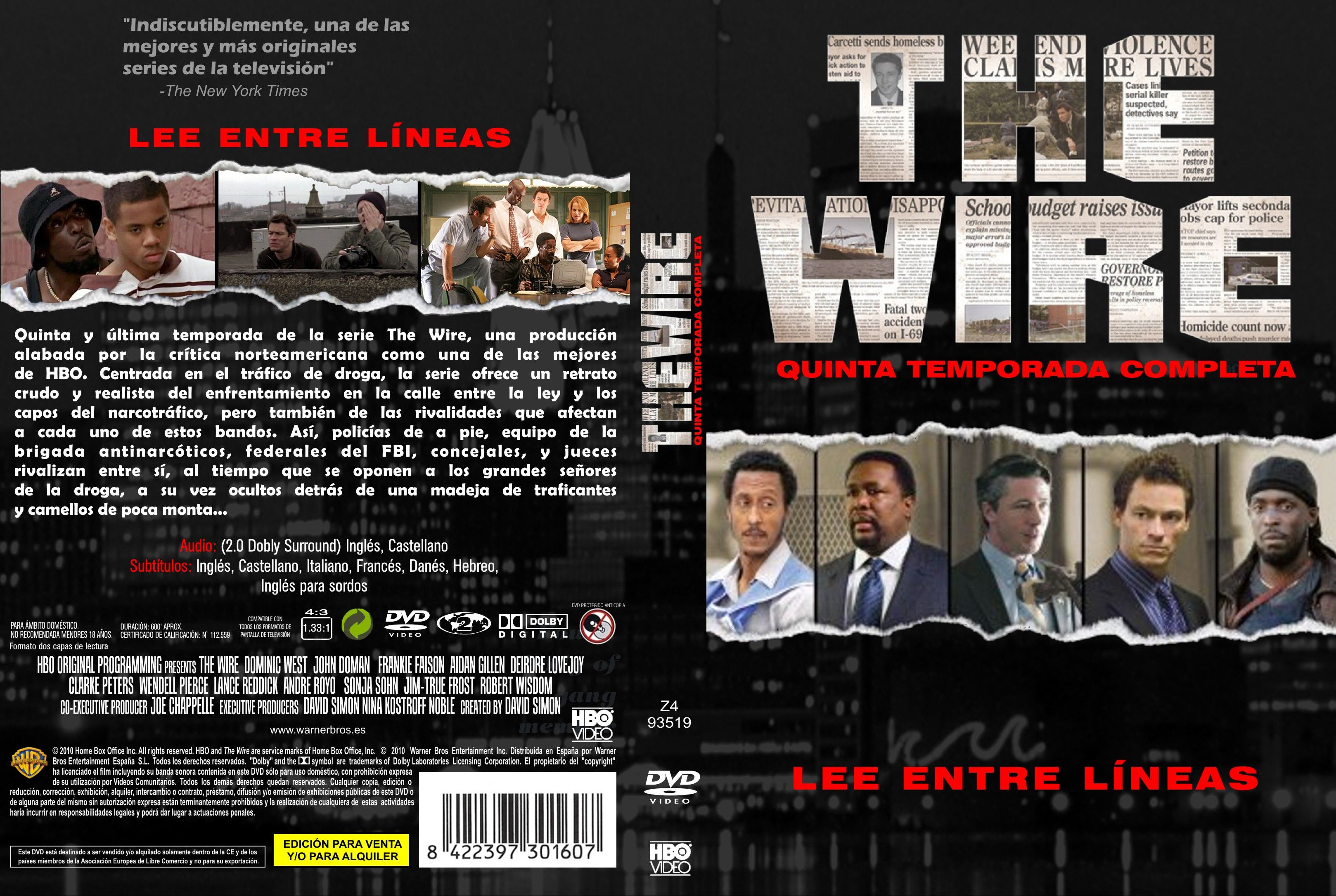COVERS.BOX.SK ::: the wire s4-5 [imdb-dl5] - high quality DVD ...