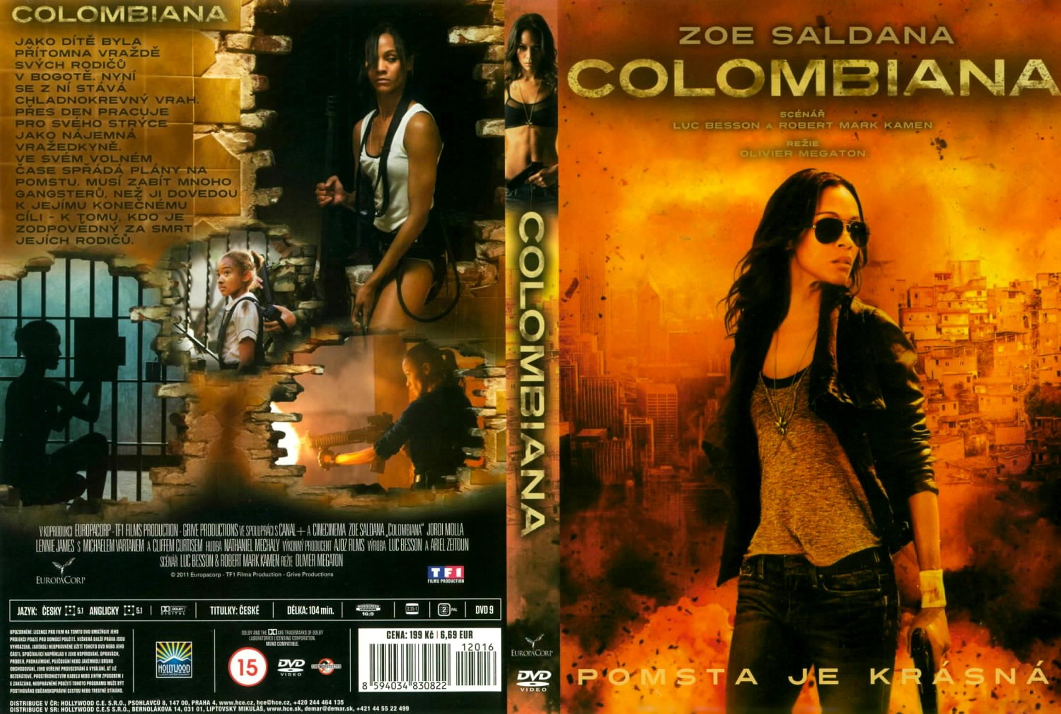 Colombiana New Movie Colombiana Movie Cover