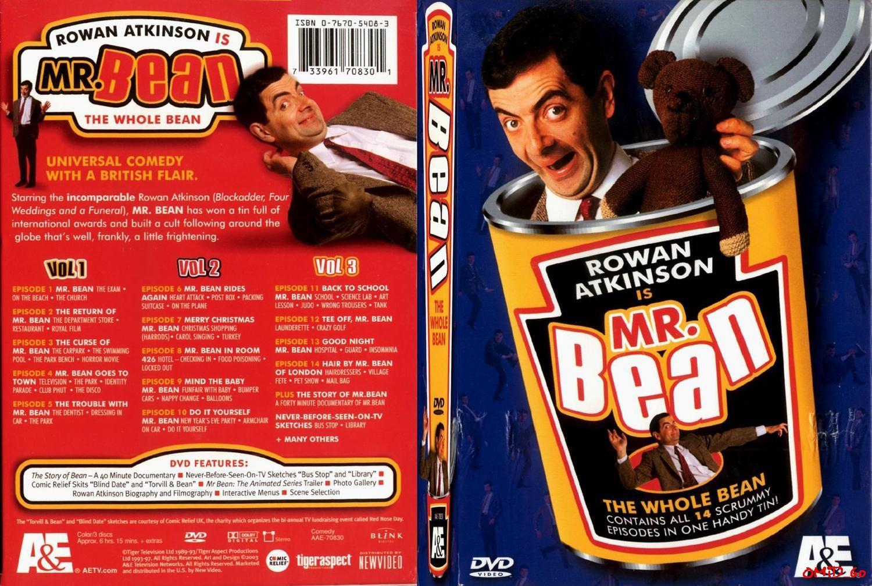 COVERS BOX SK ::: mr bean v1 [imdb-dl5] - high quality DVD
