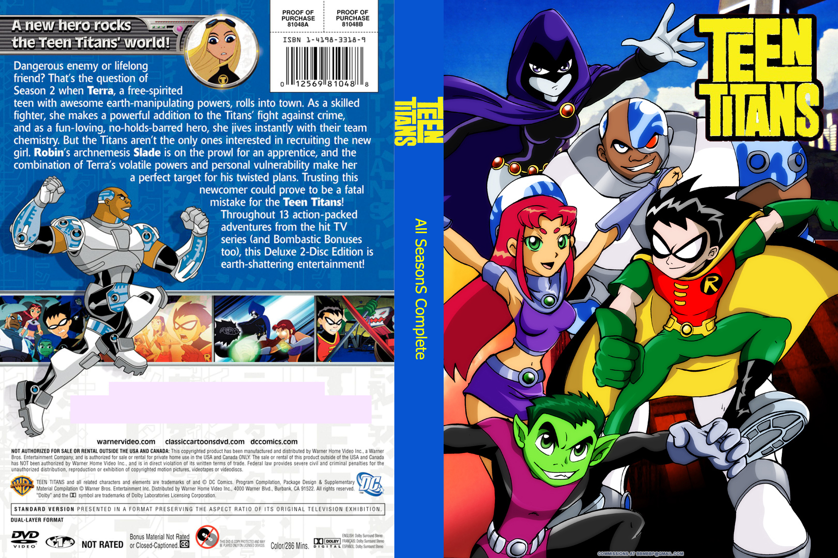 Teen titans on dvd