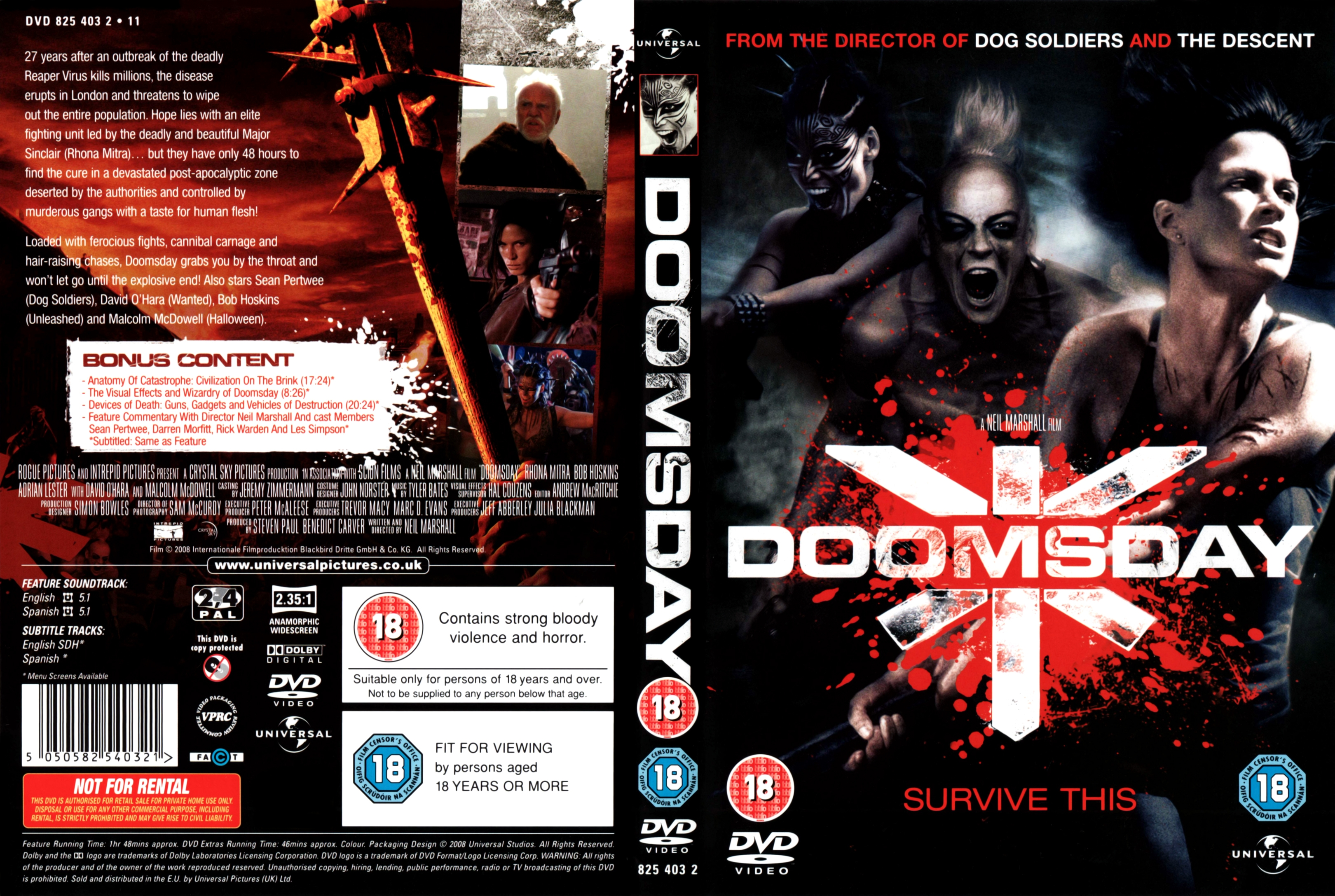Coversboxsk Doomsday 2008 Imdb Dl5 High Quality Dvd