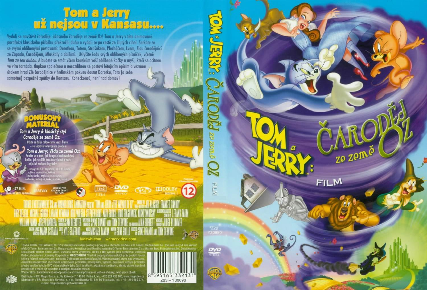 Tom And Jerry Wizard Of Oz Dvd COVERS.BOX.SK