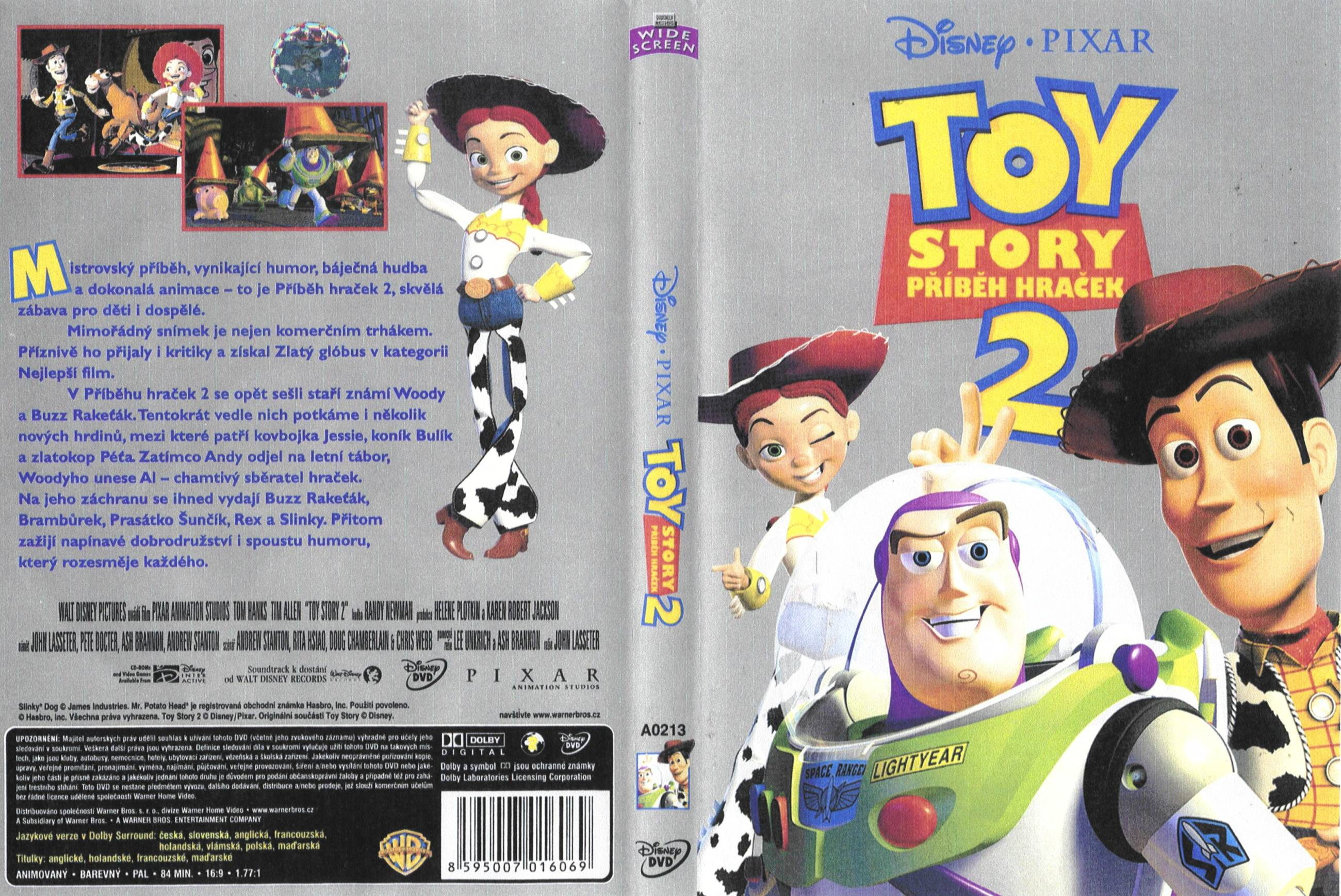Toy Story 2  1999  - frontToy Story 1999