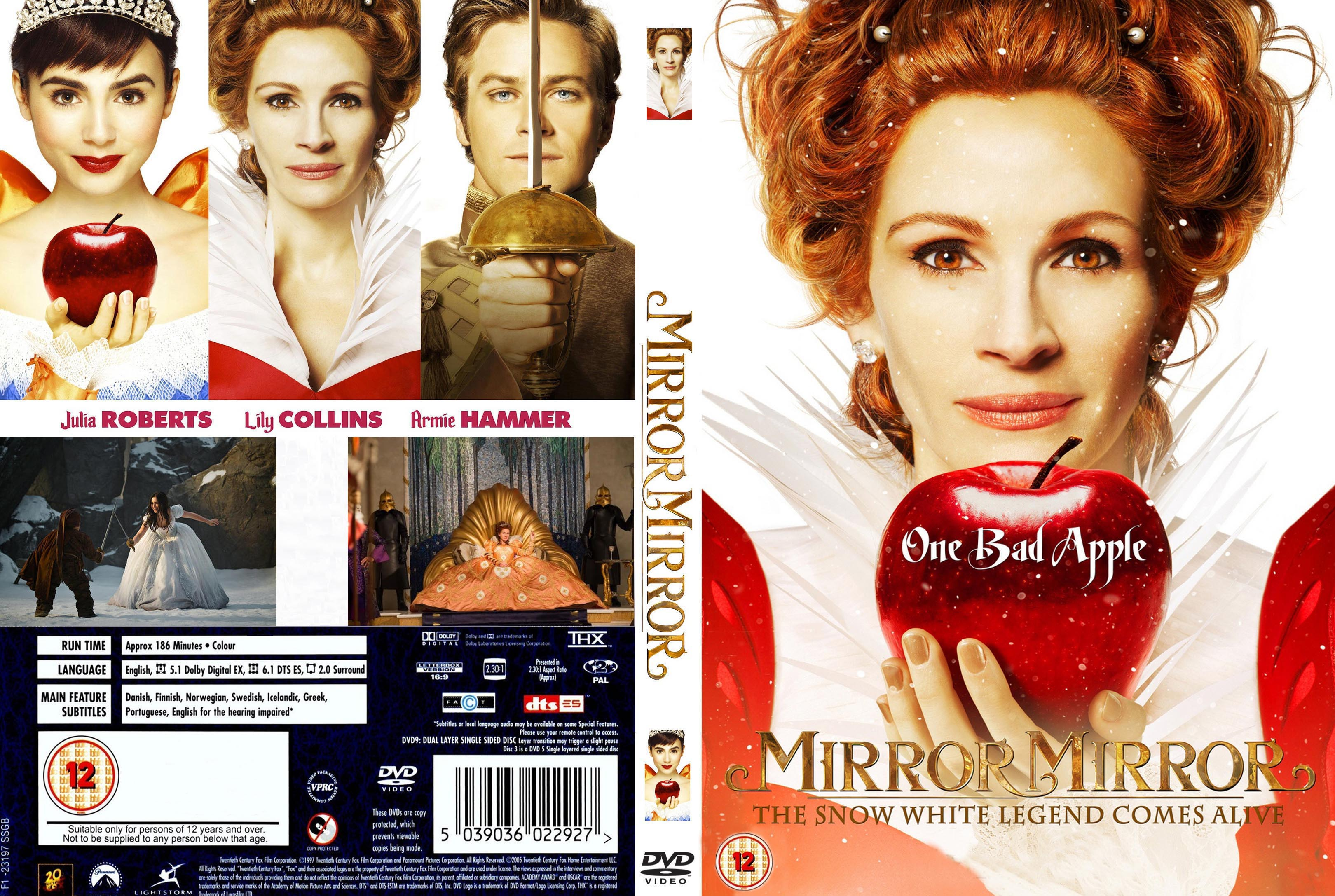 Covers box sk mirror mirror 2012 high quality dvd for Mirror 2 full movie