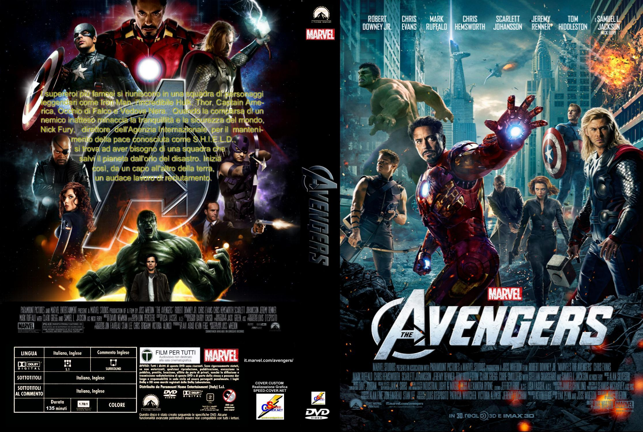 COVERS.BOX.SK ::: The Avengers 2012 Dvd Covers - high quality DVD ...