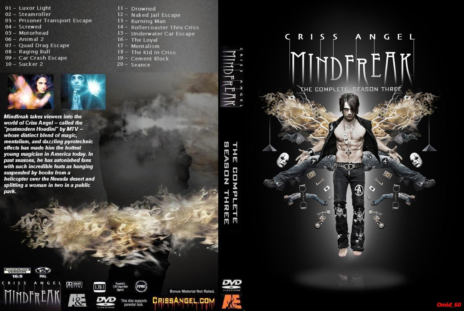 criss angel mindfreak dvd
