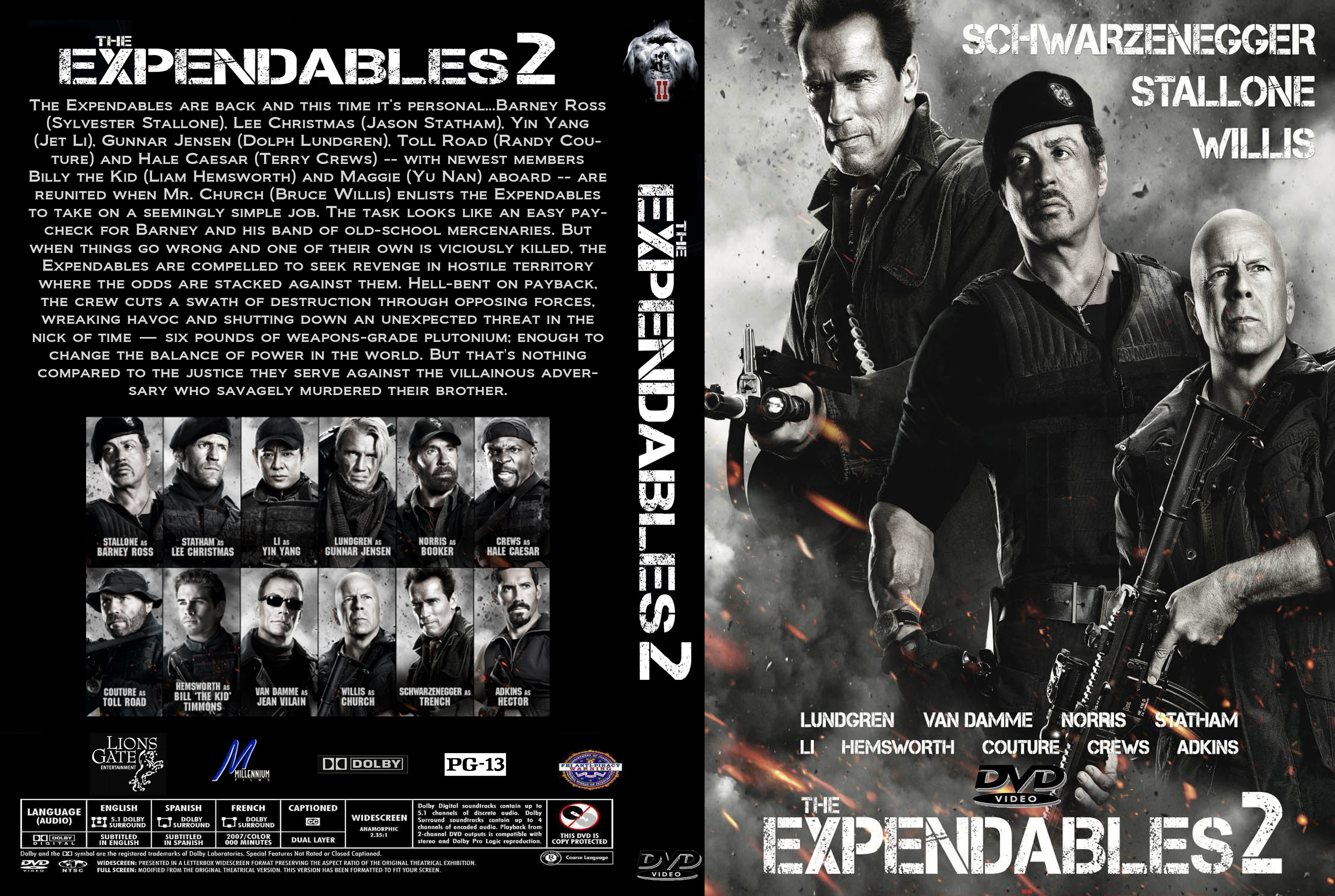 covers.box.sk ::: the expendables 2 (2012) [imdb-dl5] - high quality