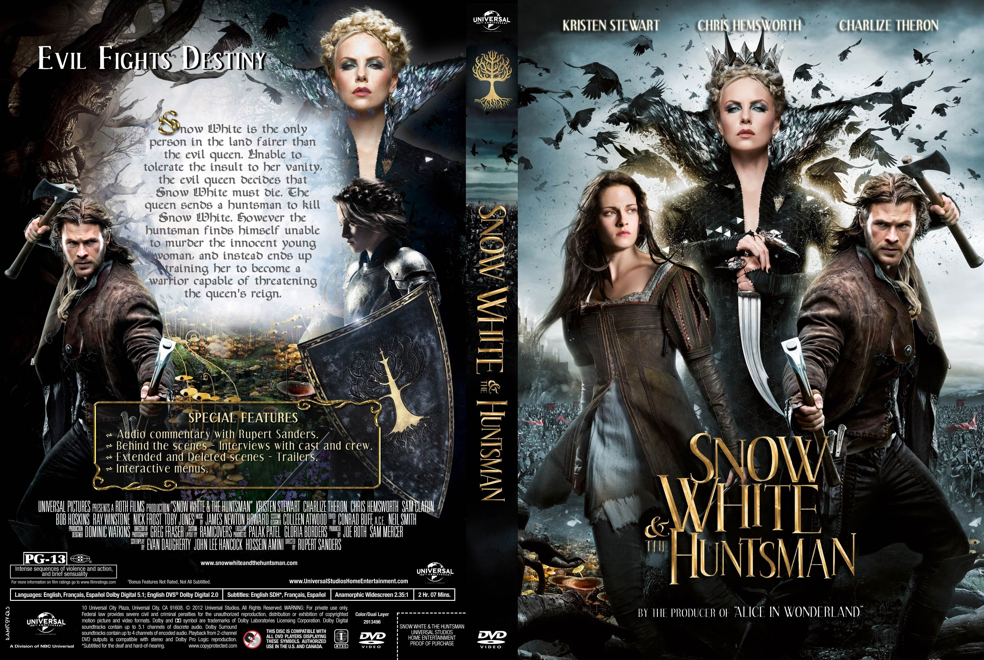 White snow huntsman english download and the subtitles