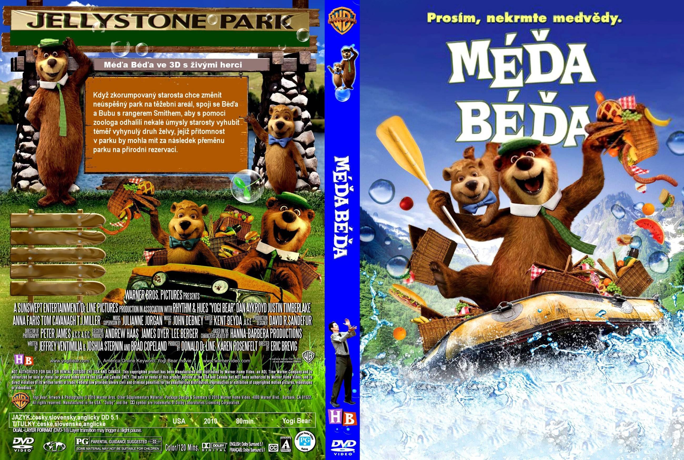 Covers Box Sk Yogi Bear 2010 High Quality Dvd Blueray Movie