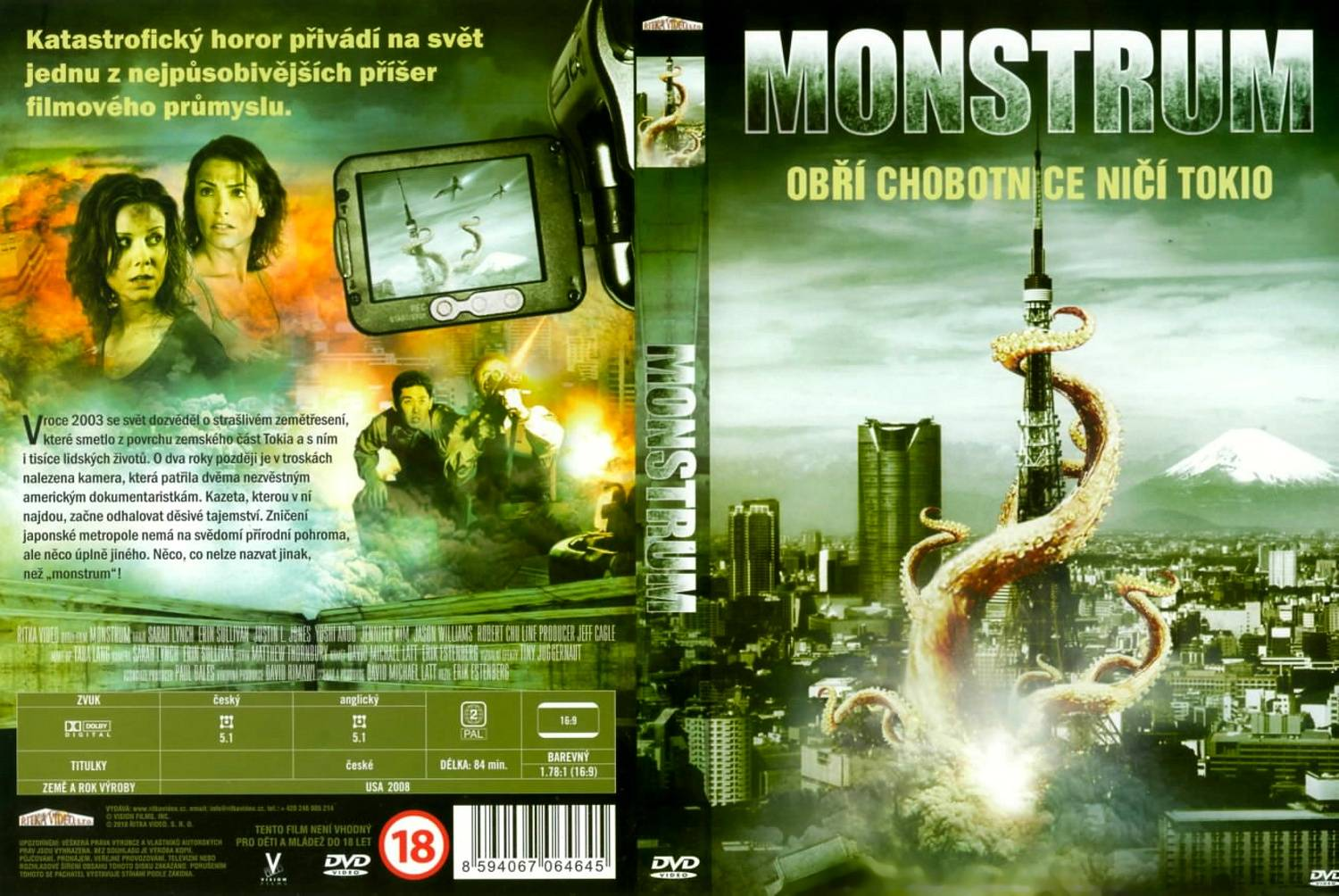 COVERS.BOX.SK ::: monster (2008) - high quality DVD / Blueray / Movie