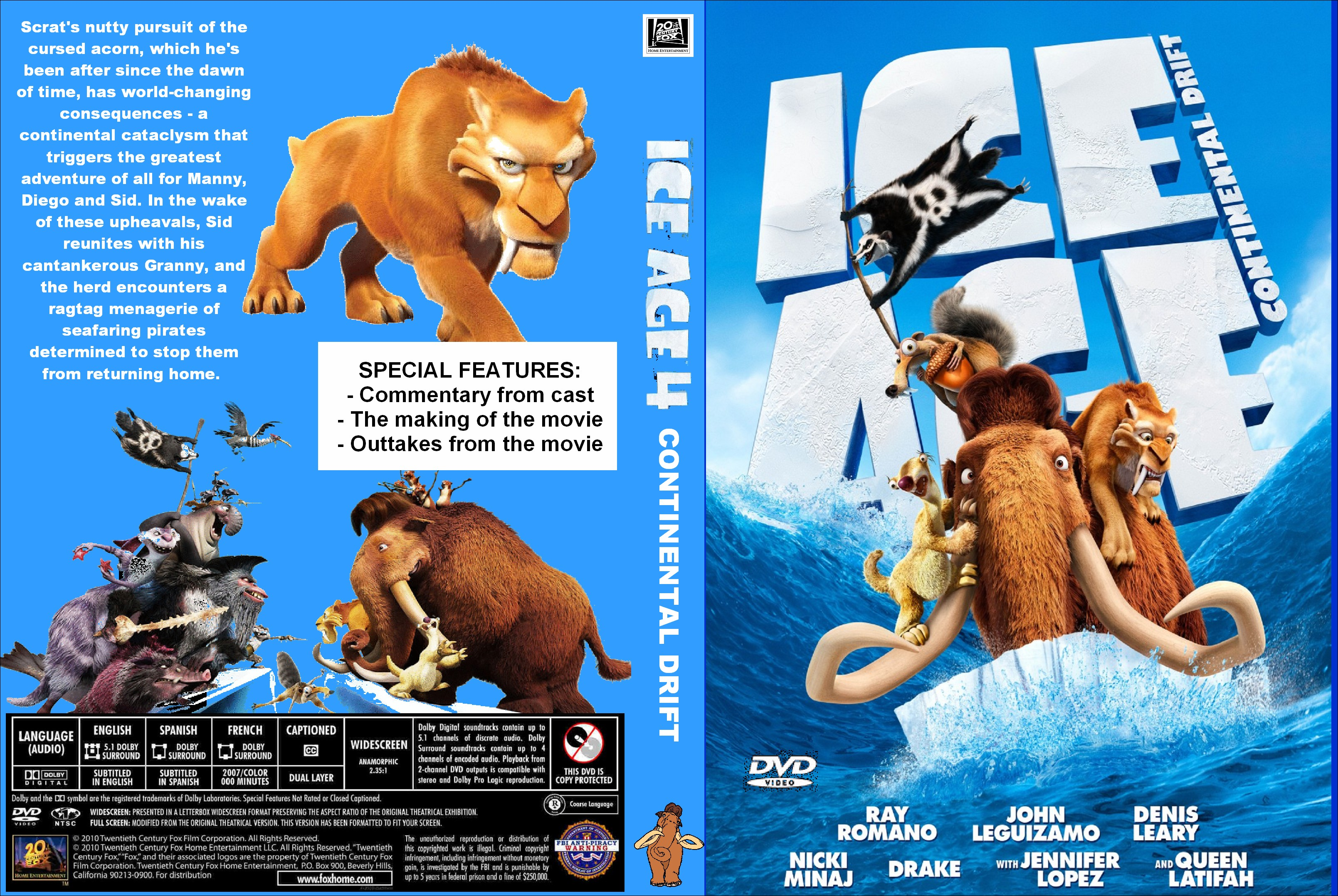 Ice Age: Continental Drift 2012 movie