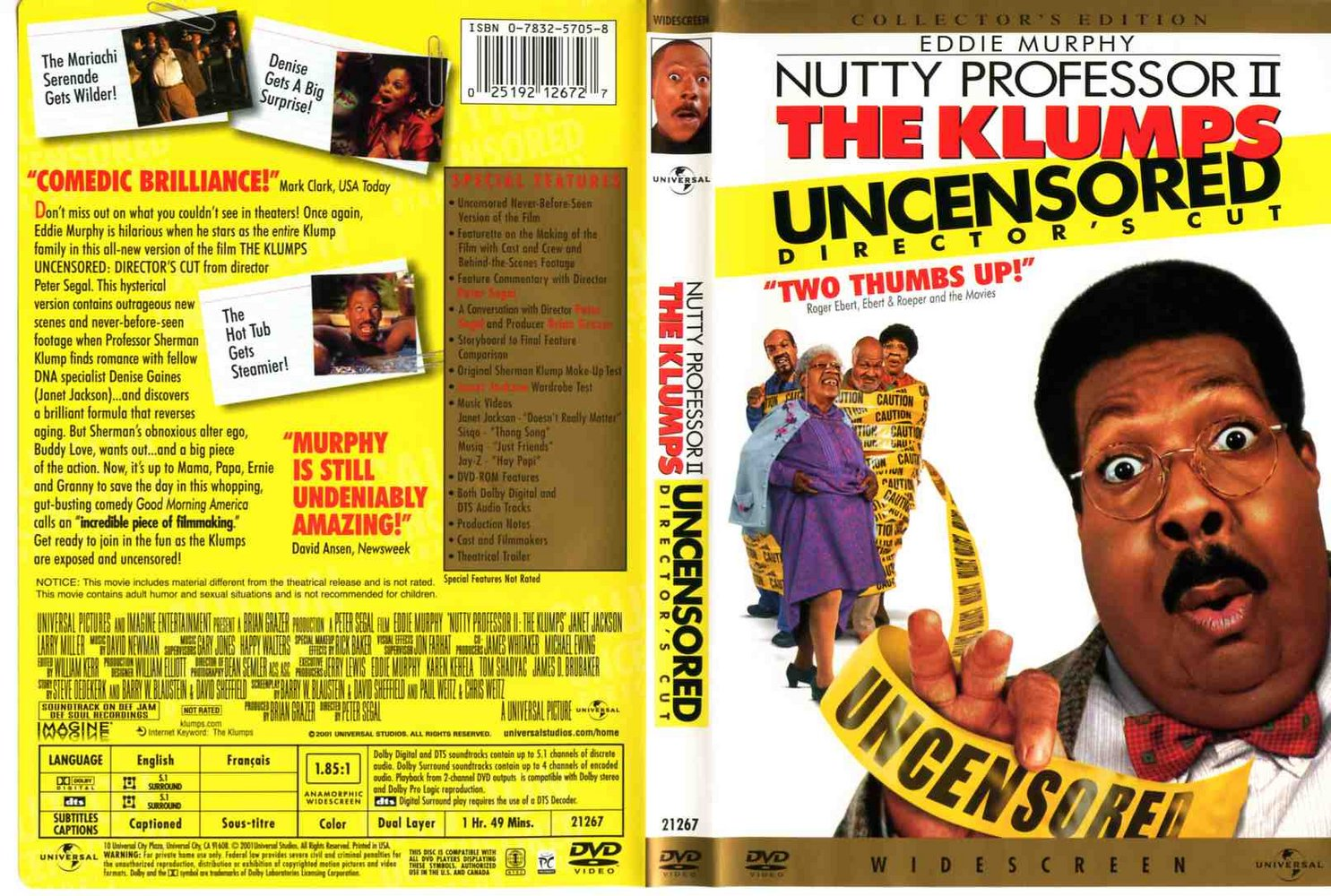 the nutty professor 2 movie download