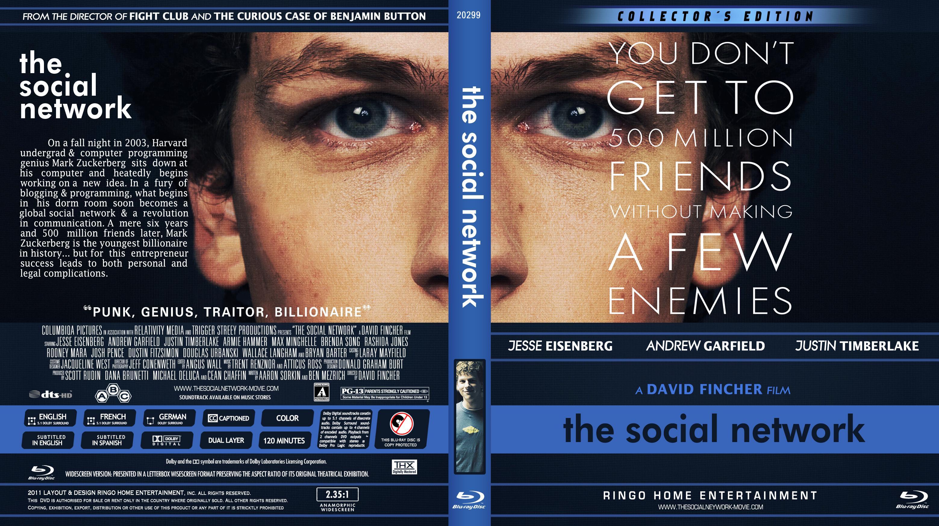 Screen Shoot The Social Network (Story of FaceBook) Dual Audio Hindi Movie Download 720p BluRay