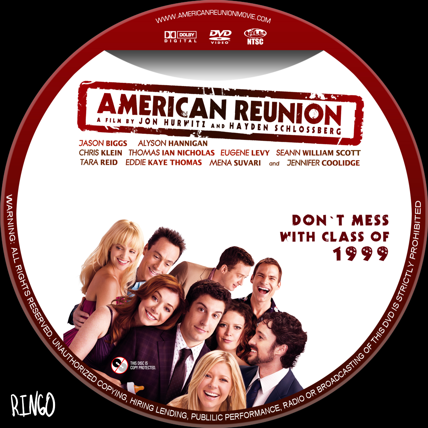 Covers Box Sk American Reunion 2012 High Quality Dvd Blueray Movie
