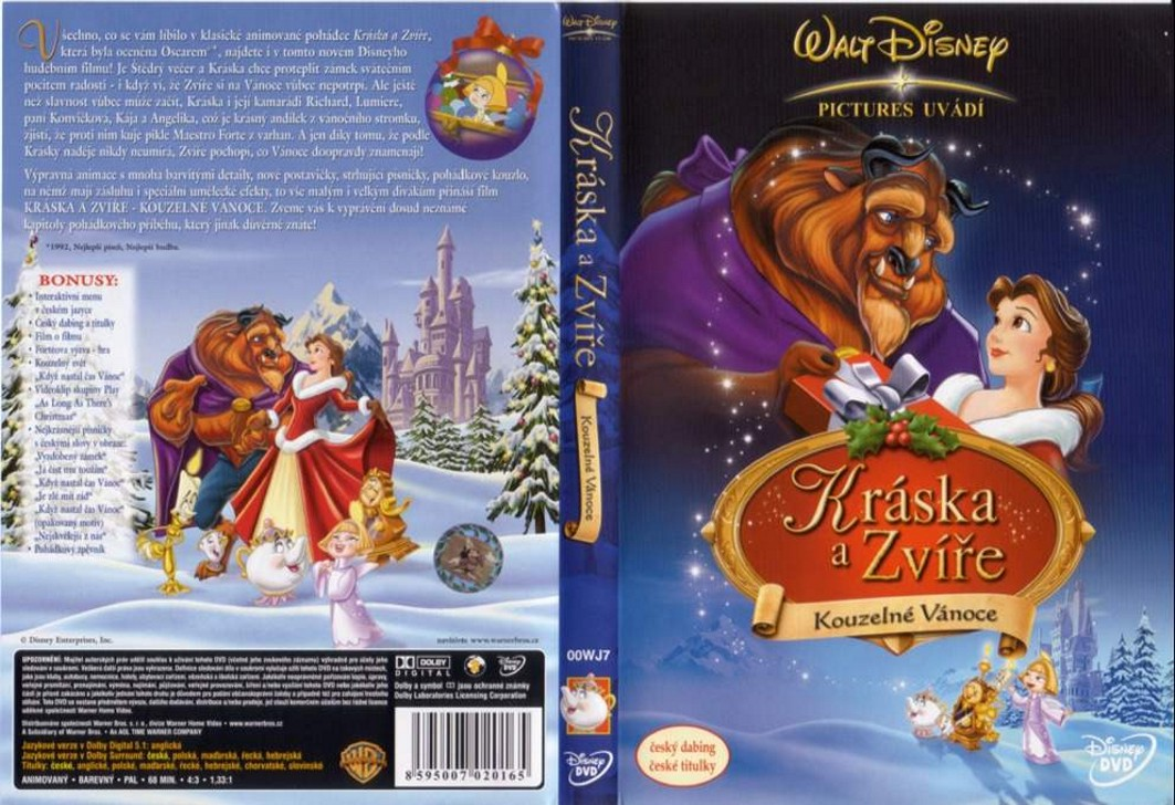 COVERS.BOX.SK ::: Beauty and the Beast: The Enchanted Christmas ...