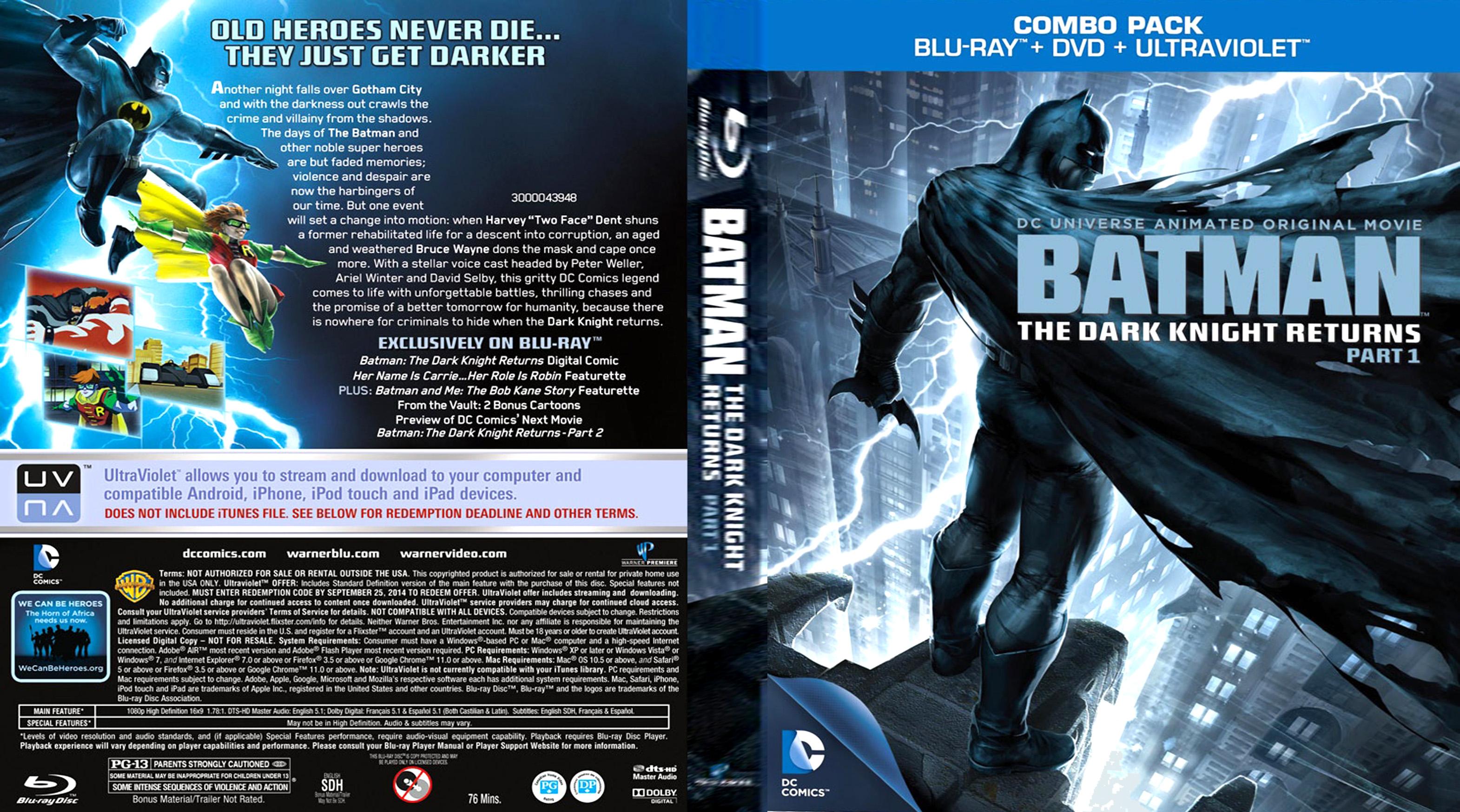 bol.com   Batman: The Dark Knight Returns - Part 1 (Blu ...