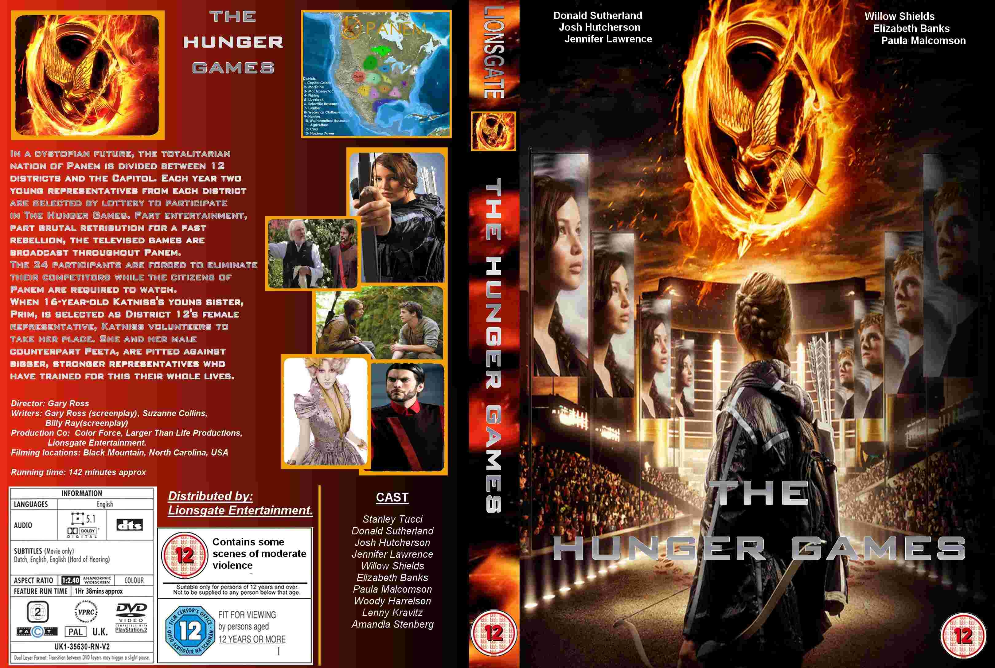 the hunger games front cover