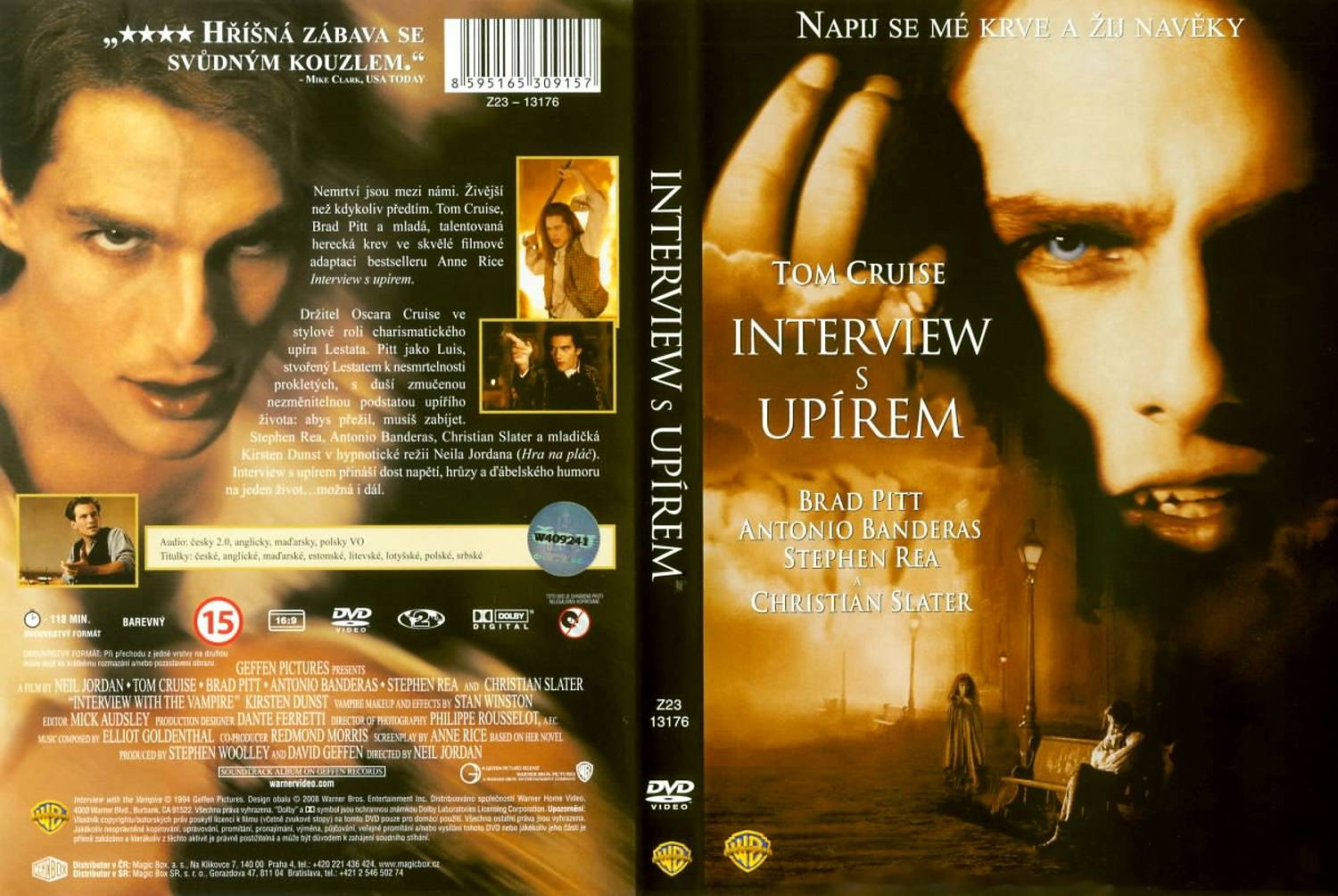 Covers Box Sk Interview With The Vampire The Vampire Chronicles 1994 High Quality Dvd Blueray Movie