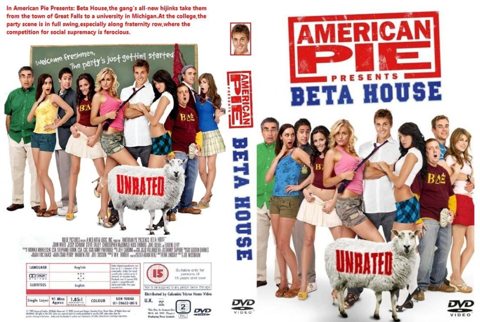 American Pie Beta House Movie covers.box.sk ::: american pie 6 : beta house (imdb-dl