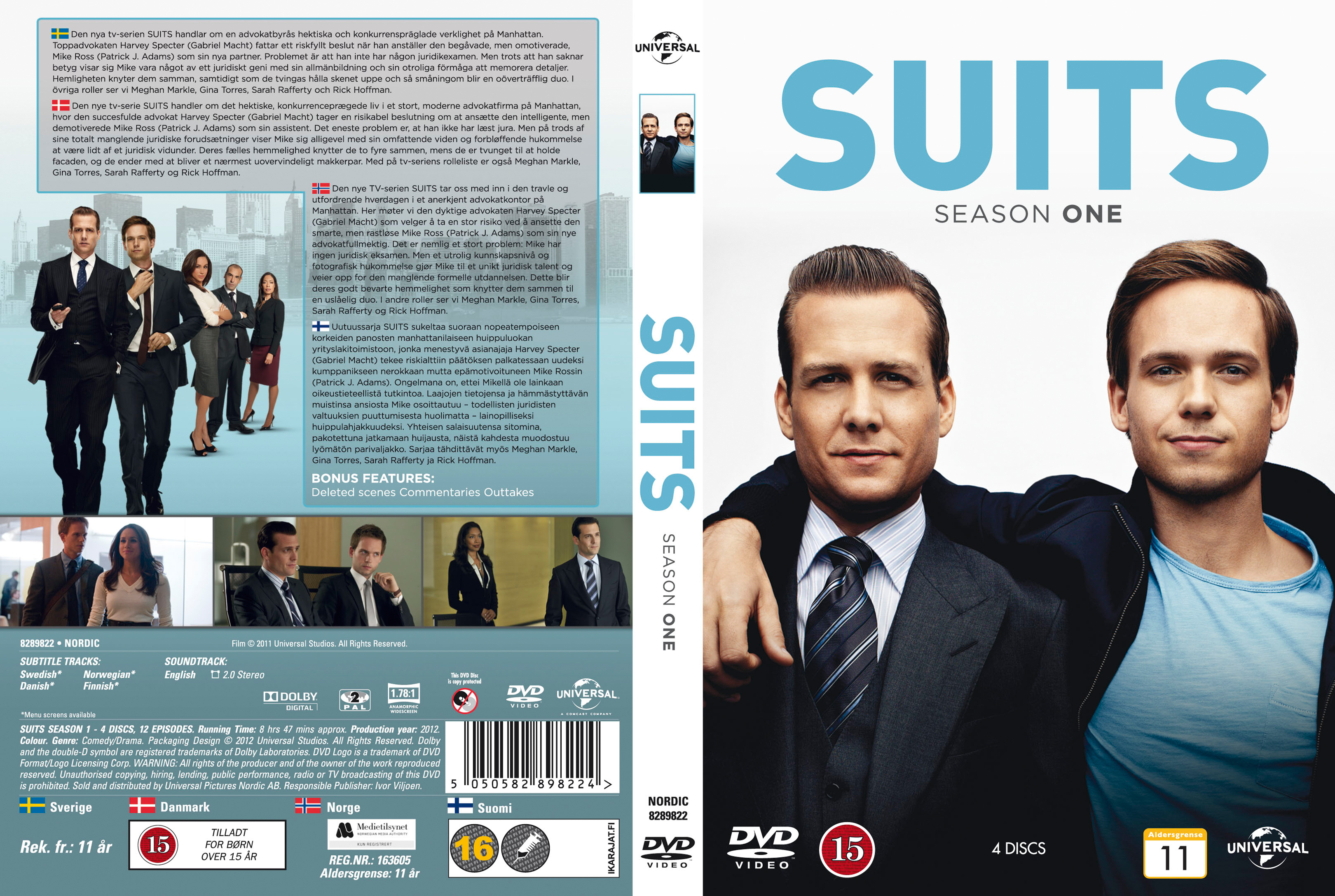 suits season 1 download