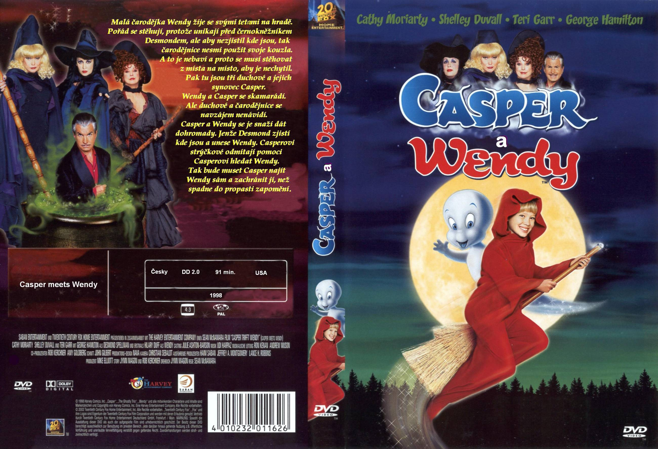 casper and wendy movie. casper meets wendy (1998) (tv) - front and movie