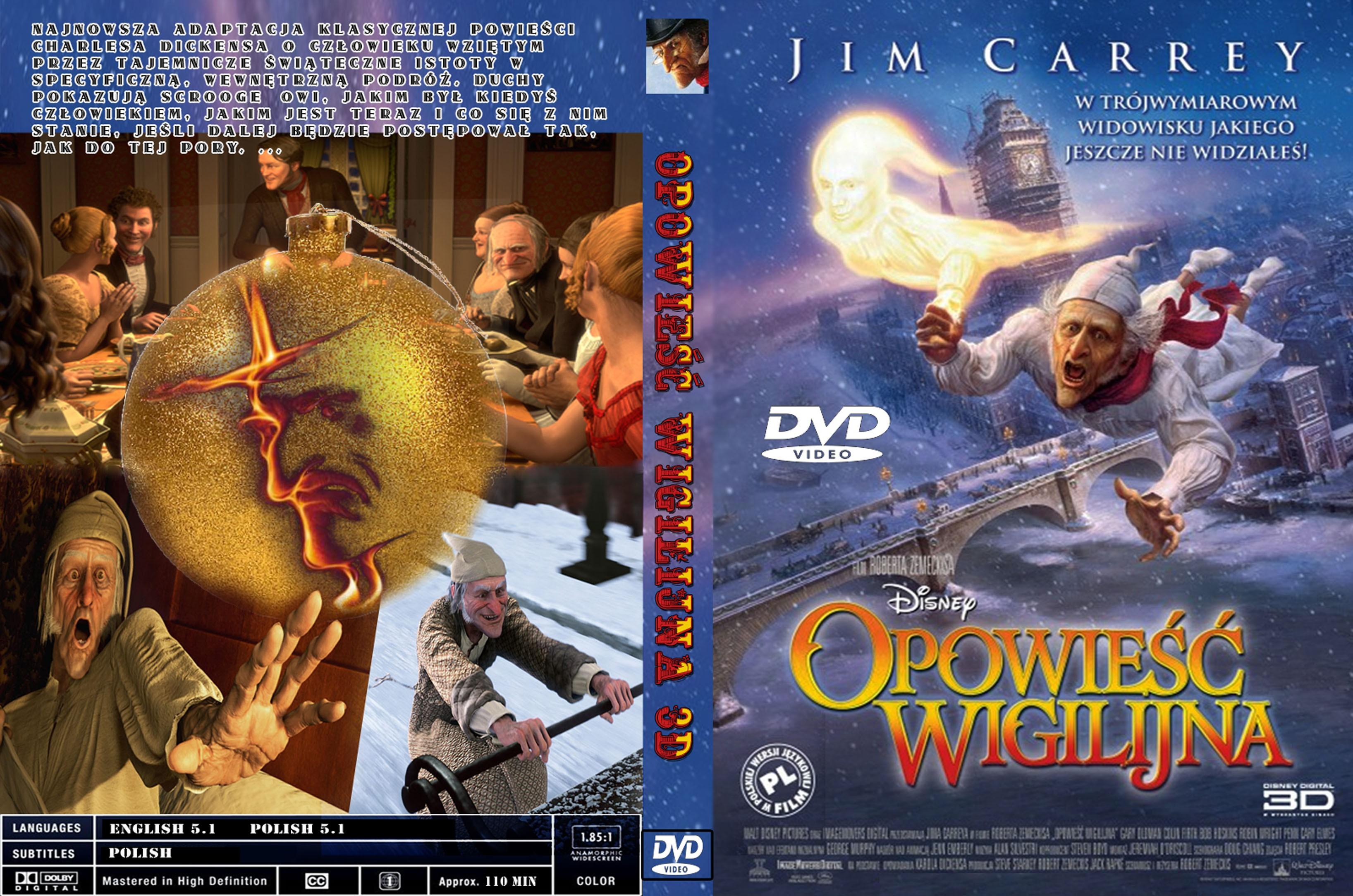 Covers Box Sk A Christmas Carol 2009 High Quality Dvd Blueray Movie