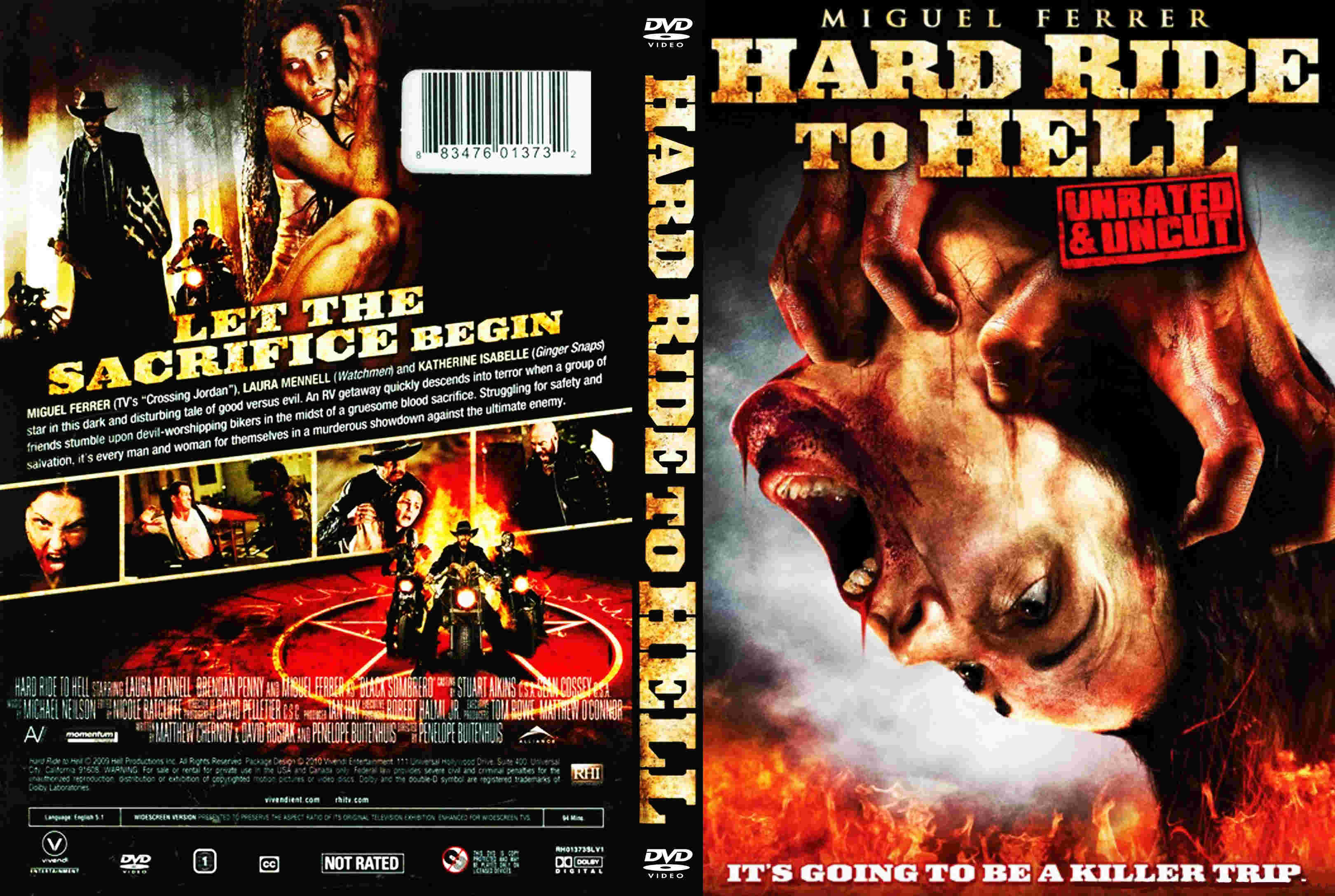 Covers Box Sk Hard Ride To Hell 2010 High Quality