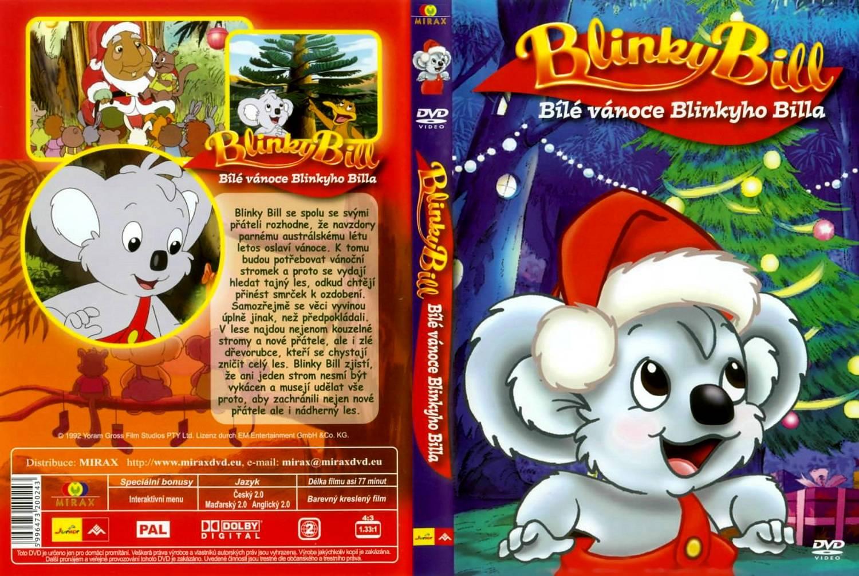 blinky bill s white christmas front