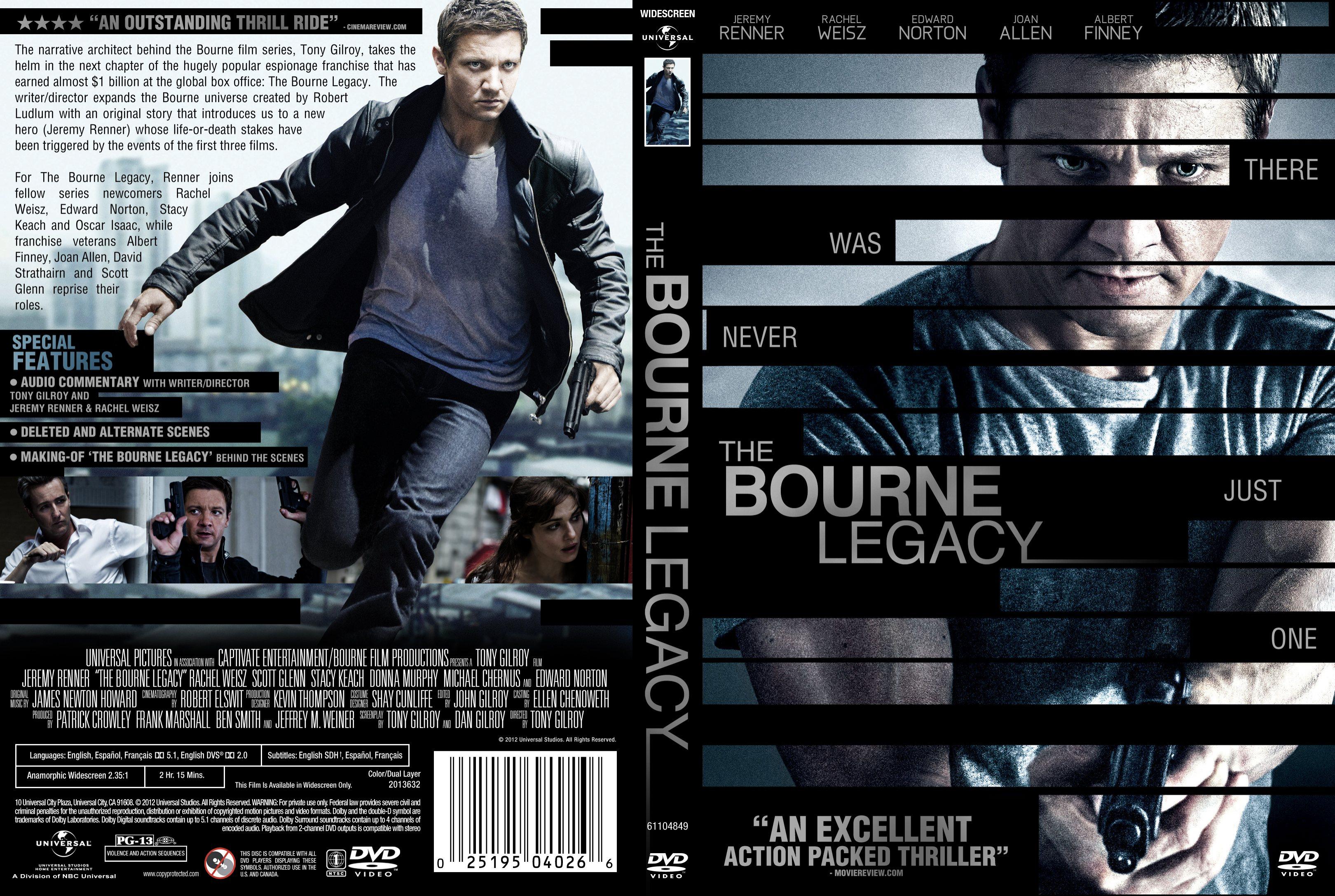 Covers Box Sk The Bourne Legacy 2012 Imdb Dl High Quality Dvd Blueray Movie