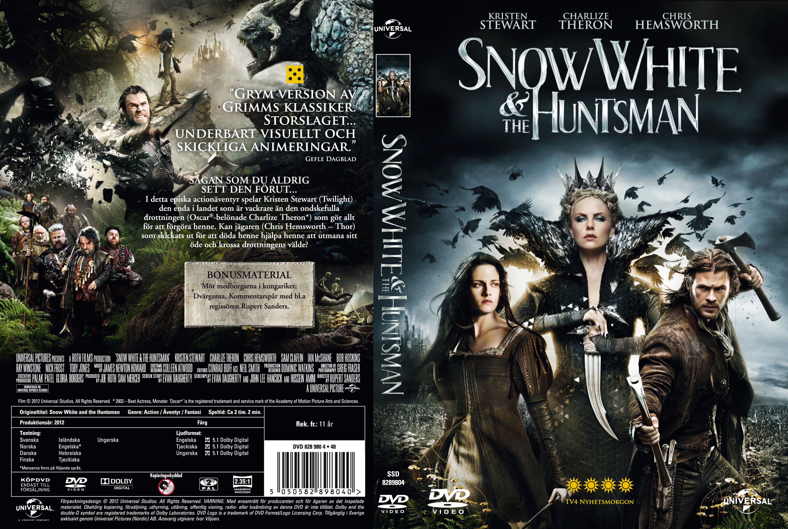 coversboxsk snow white and the huntsman 2012