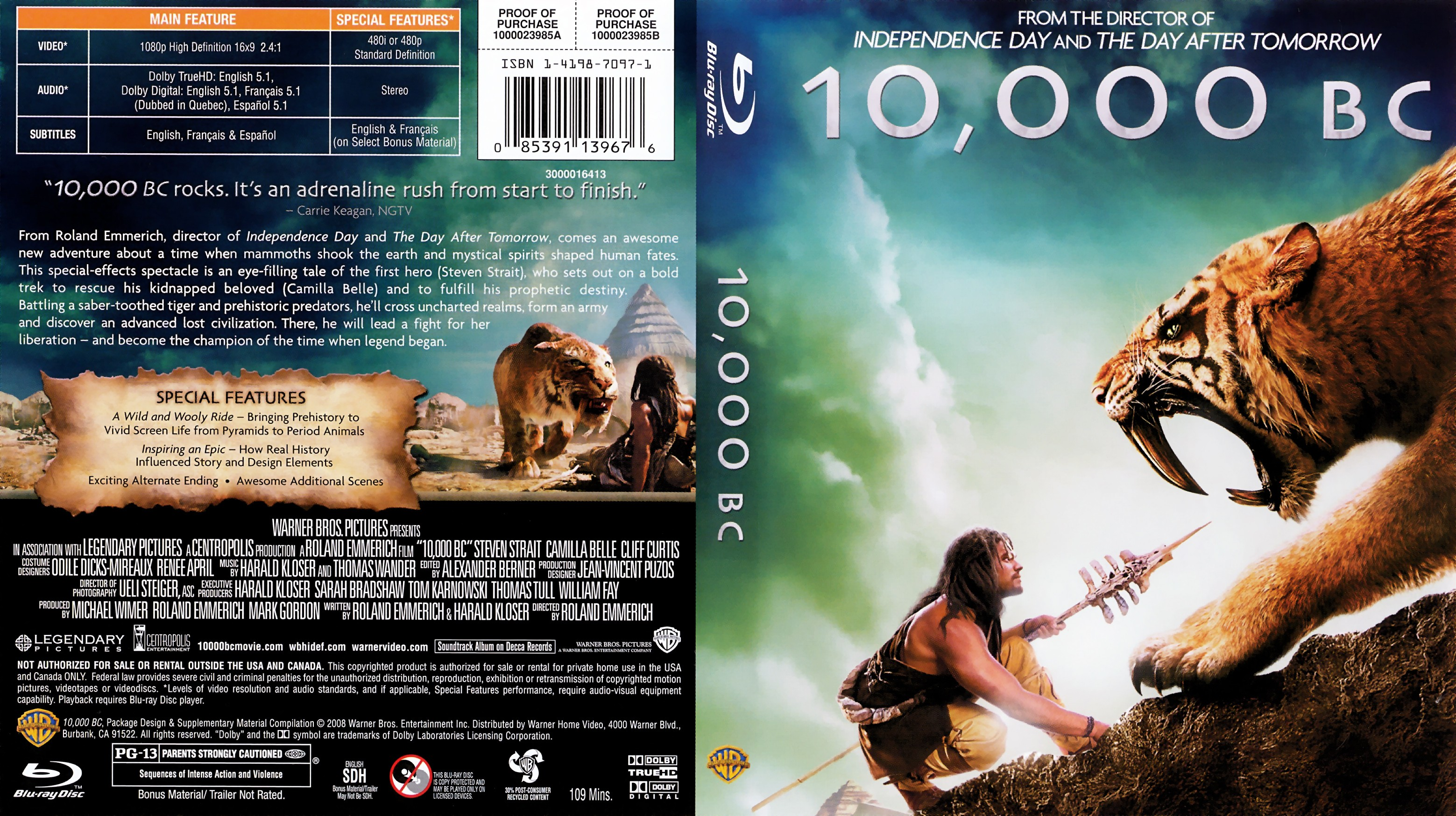 10 thousand bc movie download