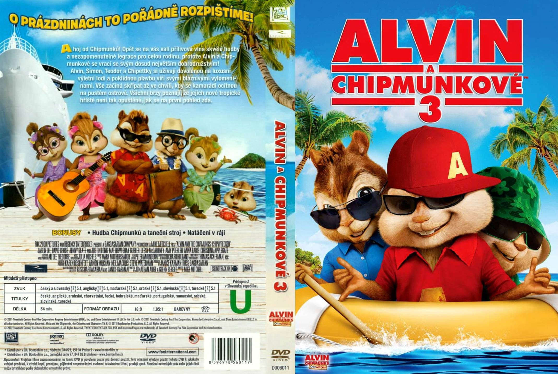 covers box sk alvin and the chipmunks chip wrecked 2011