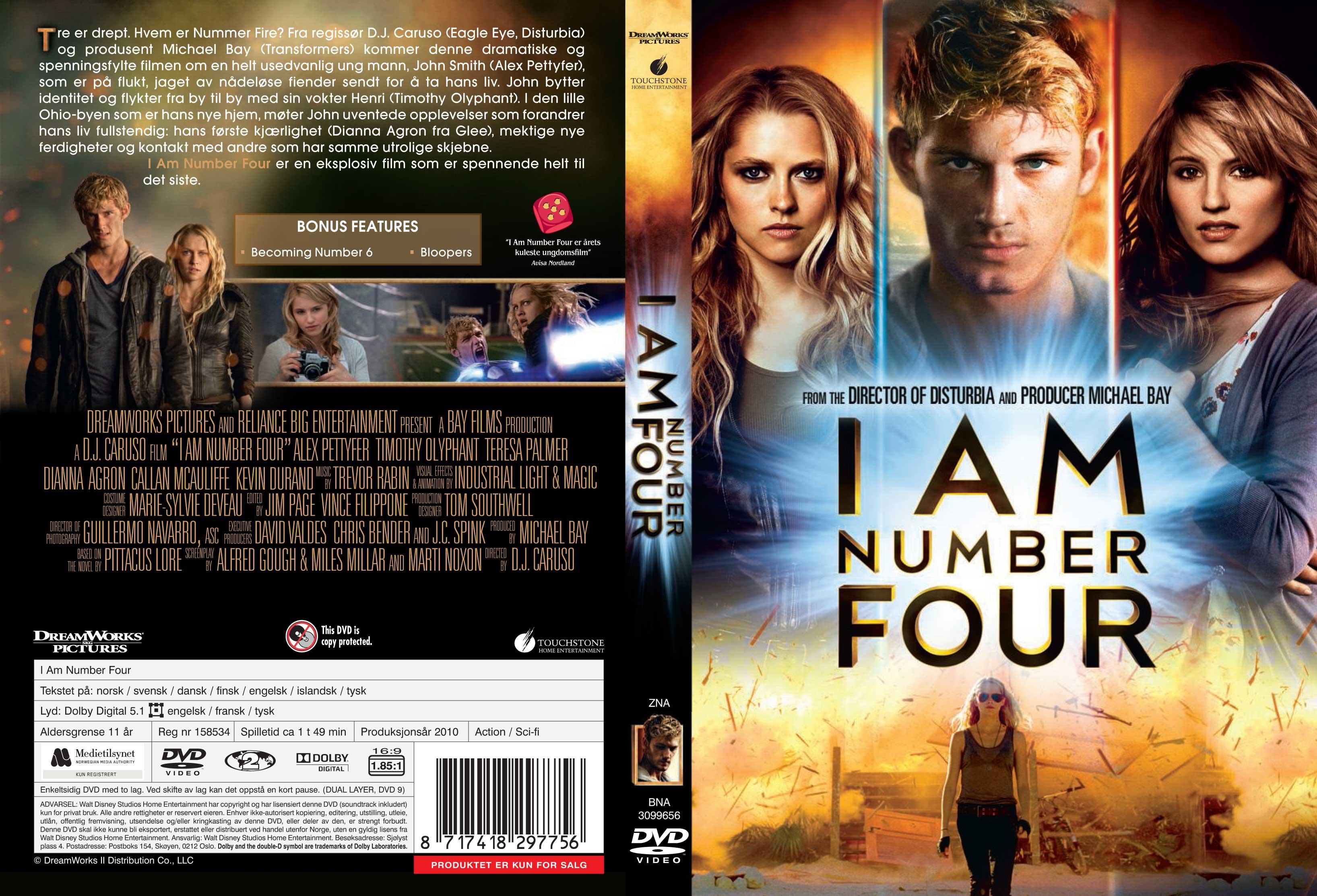 i am number four movie cast