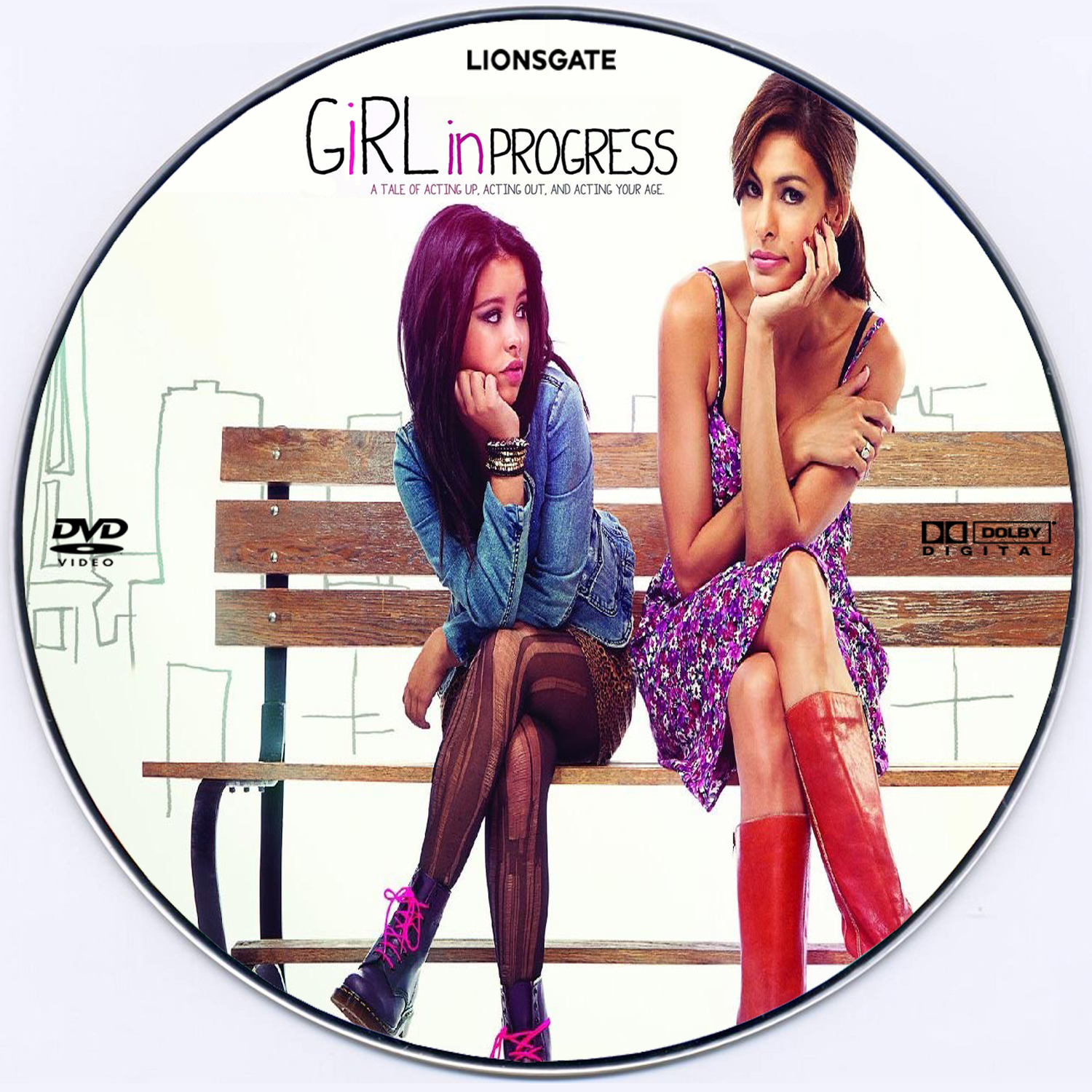 With girl in progress movie think