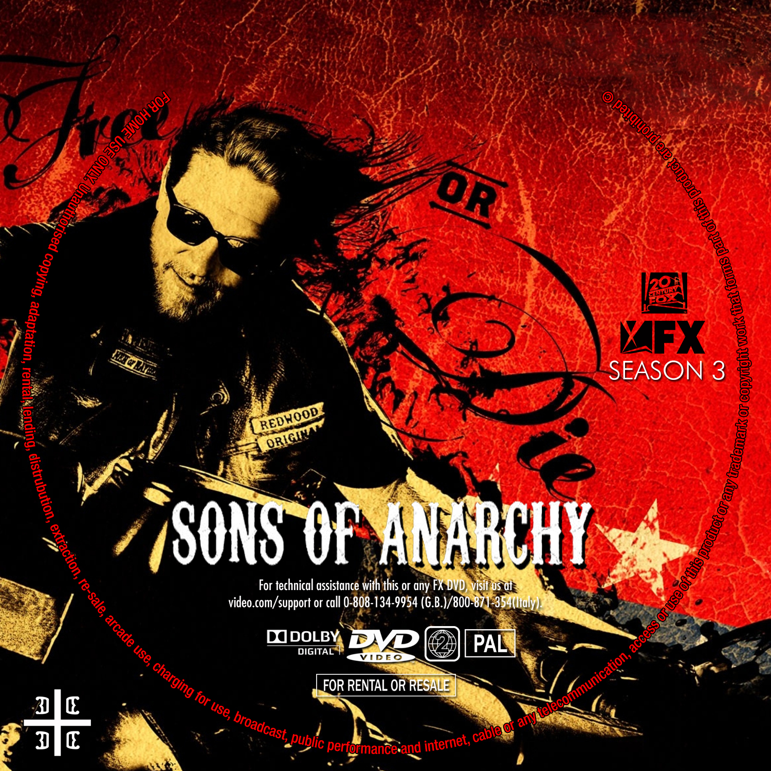COVERS.BOX.SK ::: Sons Of Anarchy Season 3