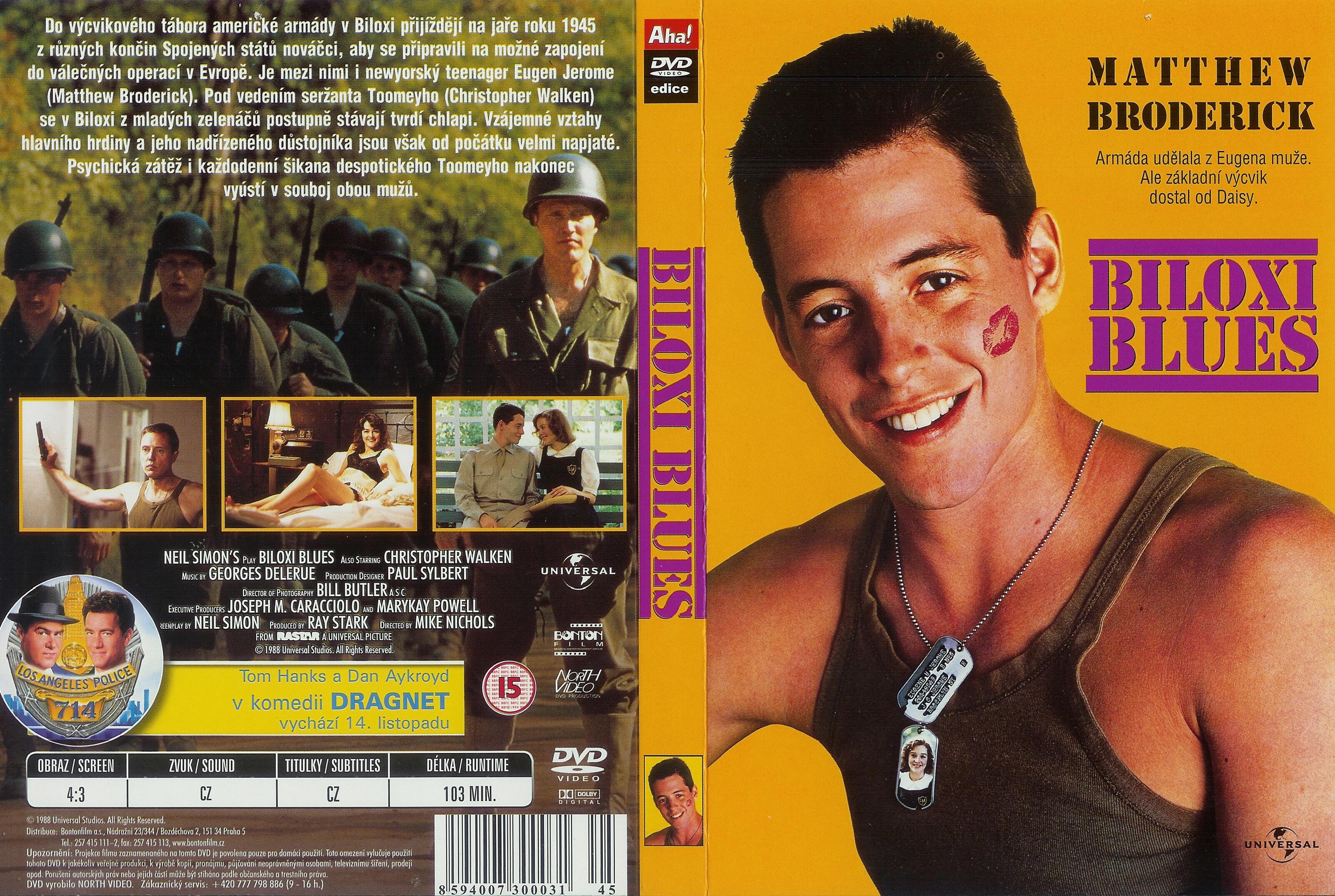 Covers Box Sk Biloxi Blues 1988 High Quality Dvd Blueray