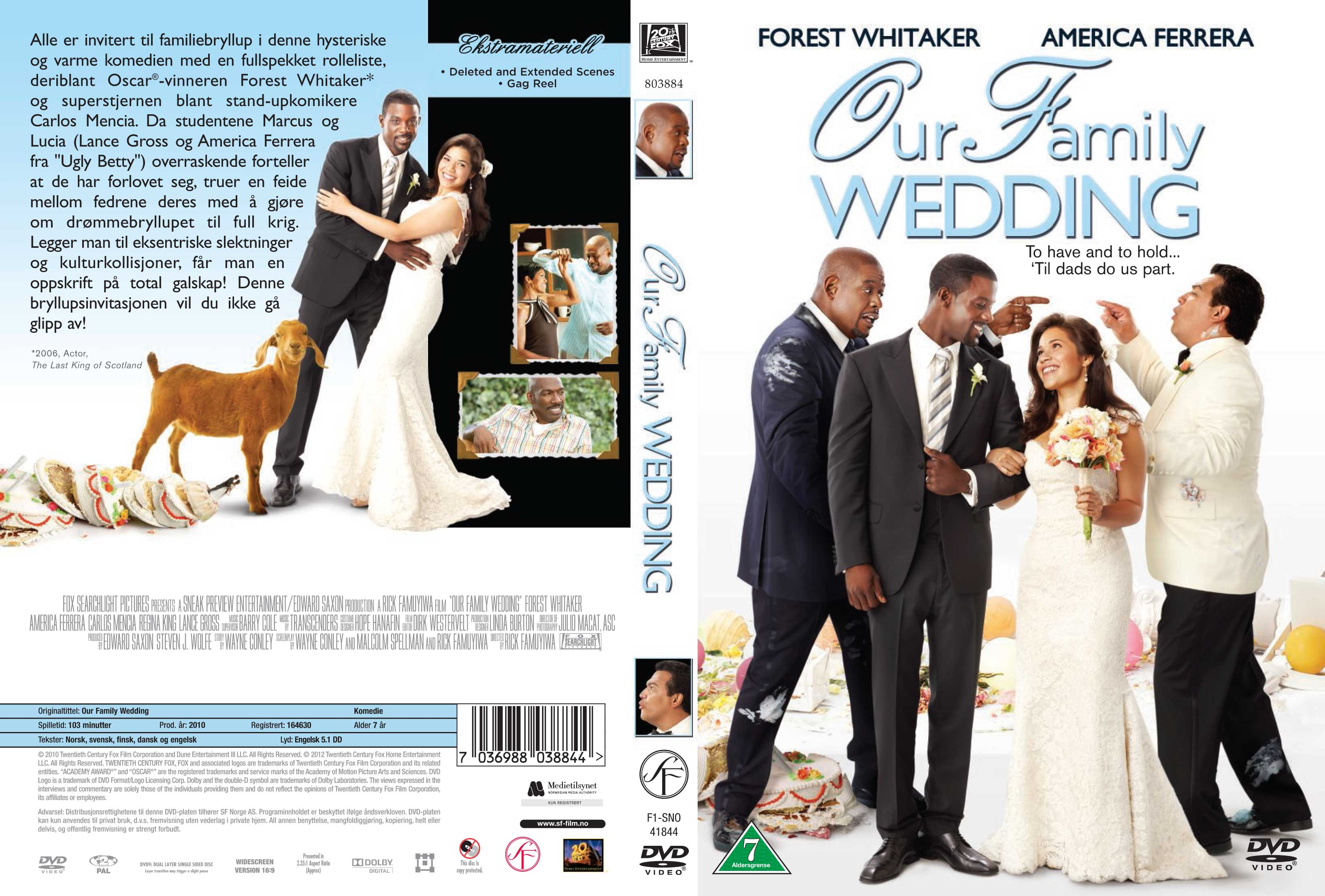 Our Family Wedding.Covers Box Sk Our Family Wedding 2010 High Quality Dvd